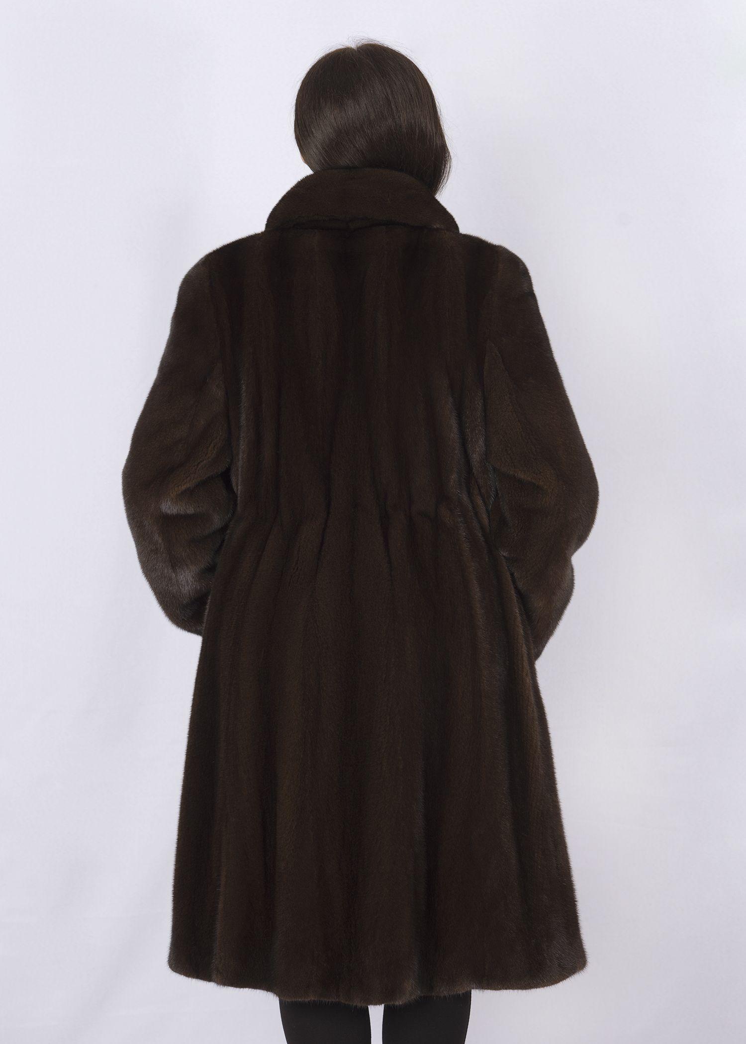 Шуба женская норковая 3400 фото №1