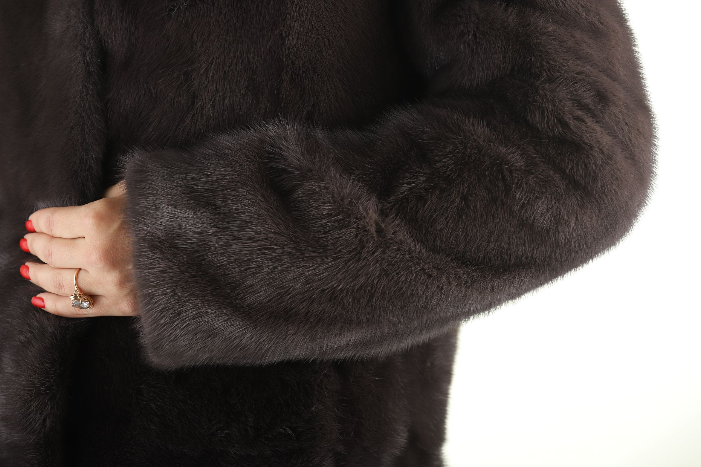 Шуба женская норковая 1821 фото №1