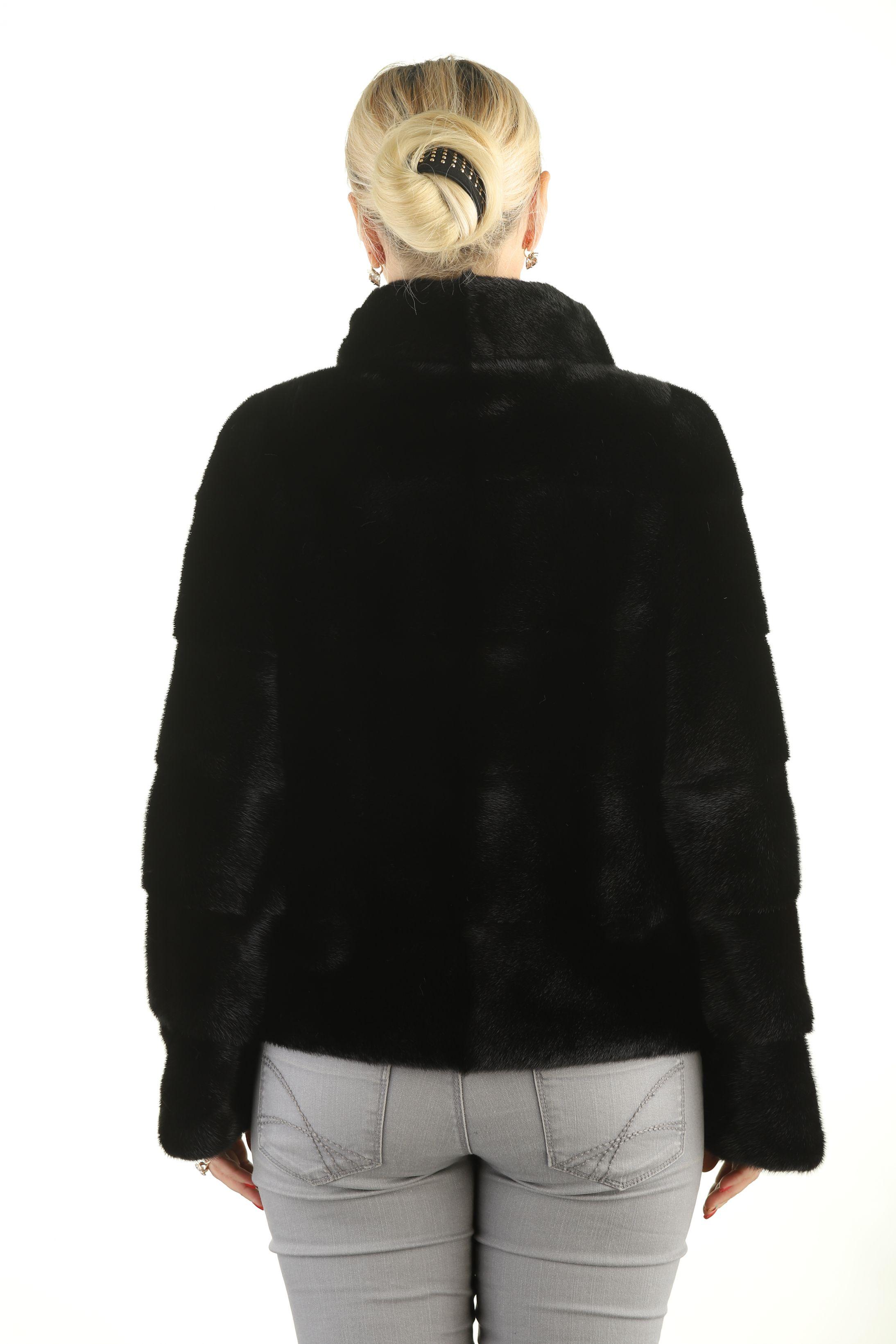Шуба женская норковая 12213 фото №1