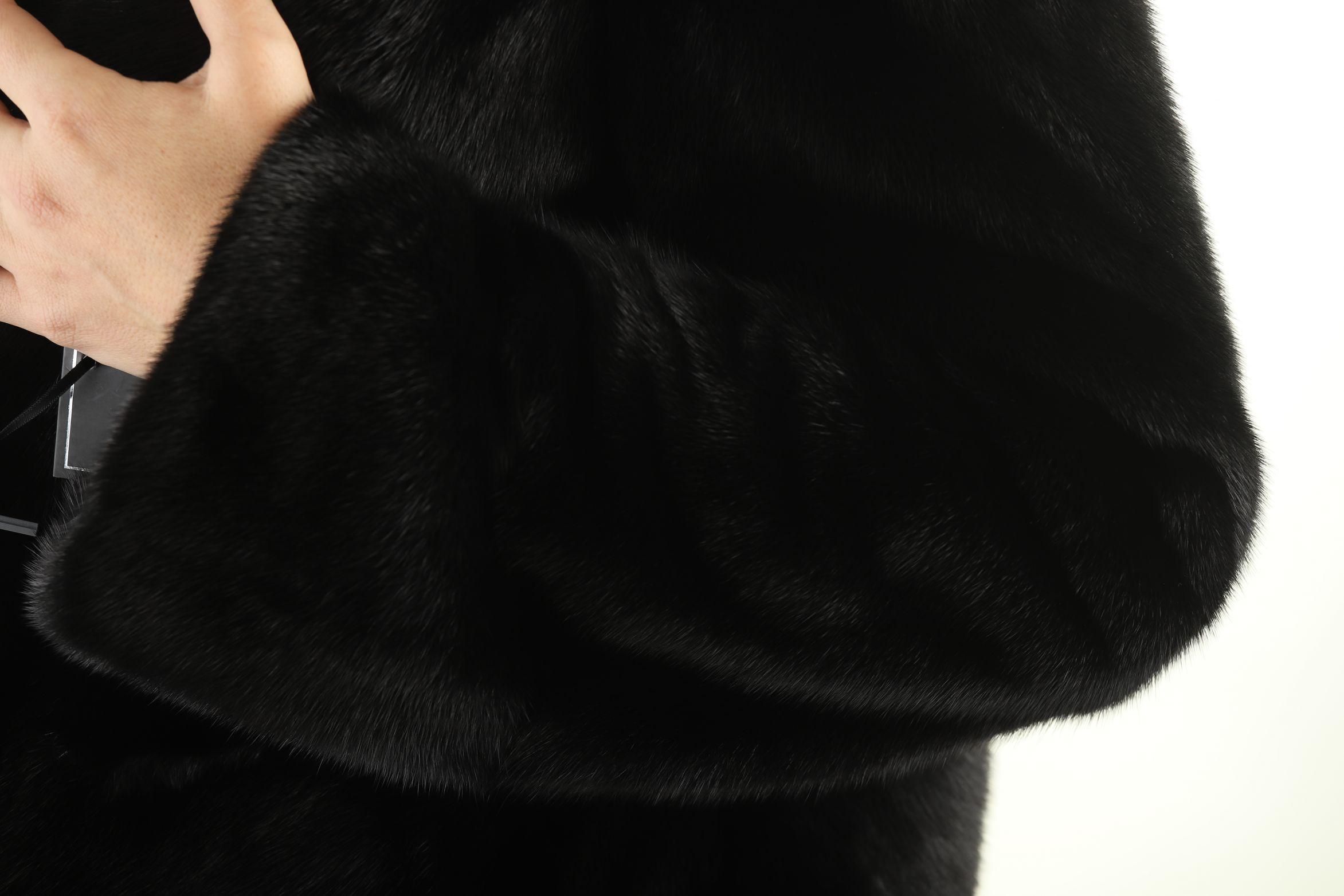 Шуба женская норковая 12230 фото №1