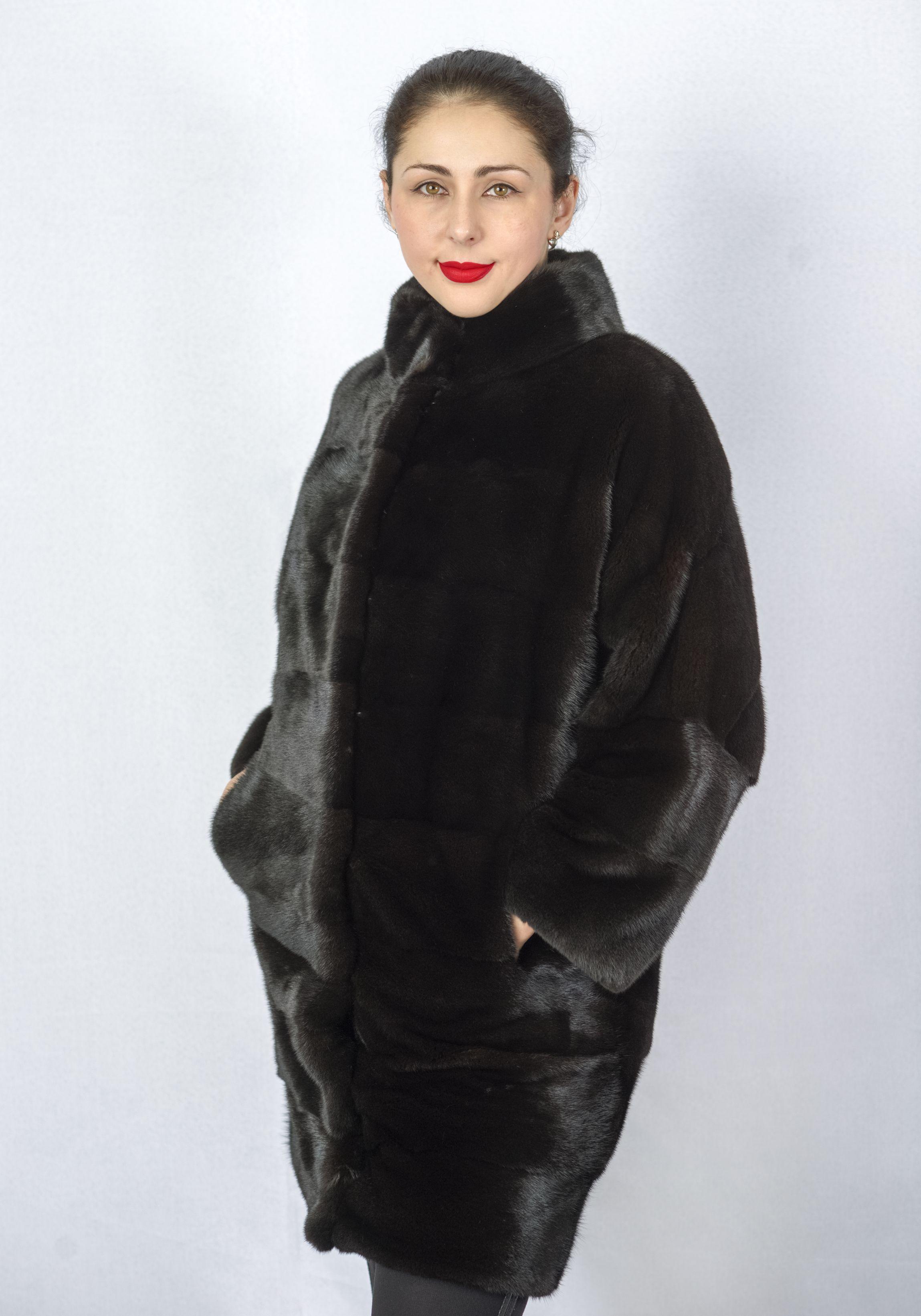 Шуба женская норковая 3046 фото №1