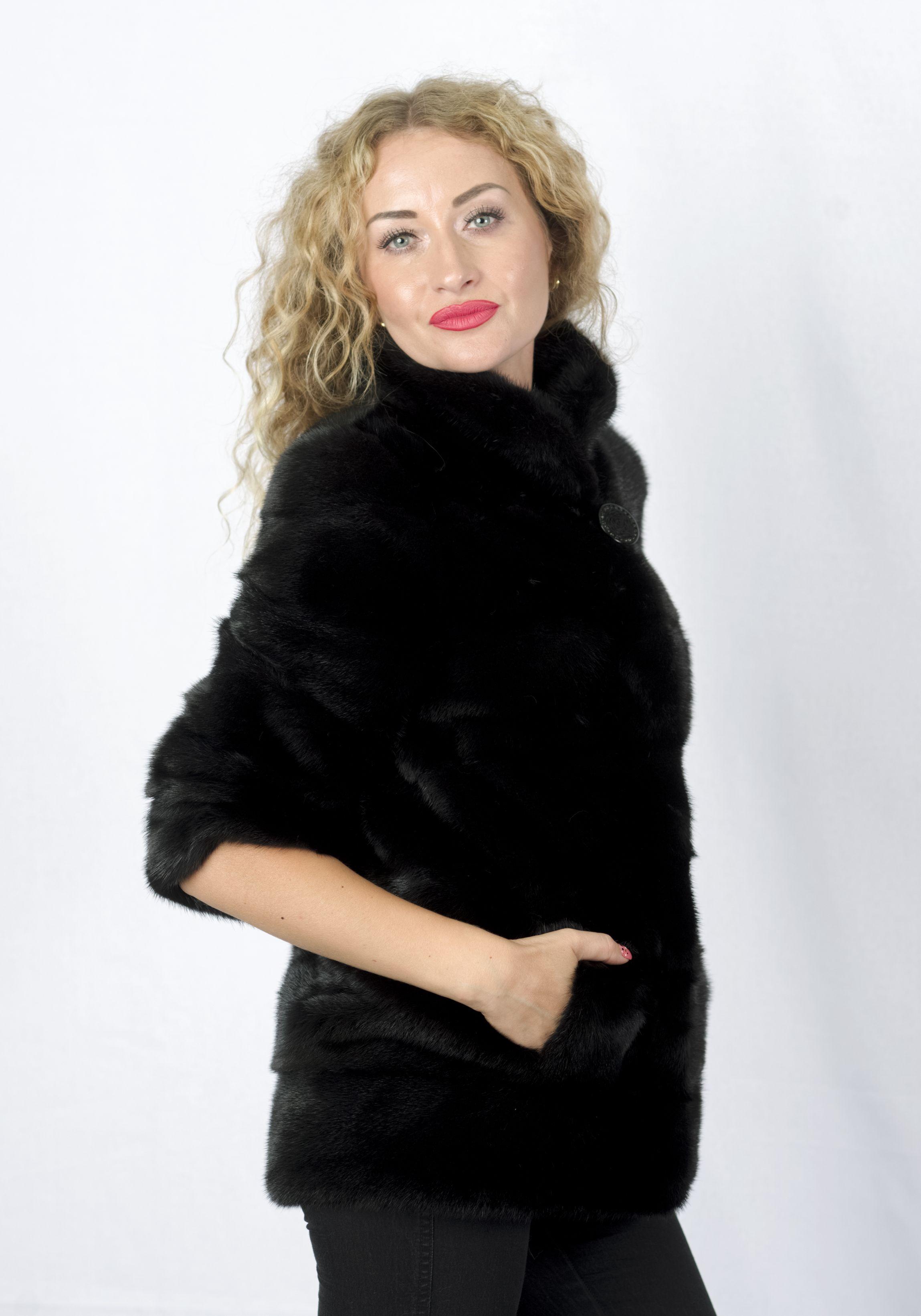 Шуба женская норковая FAR321 фото №1