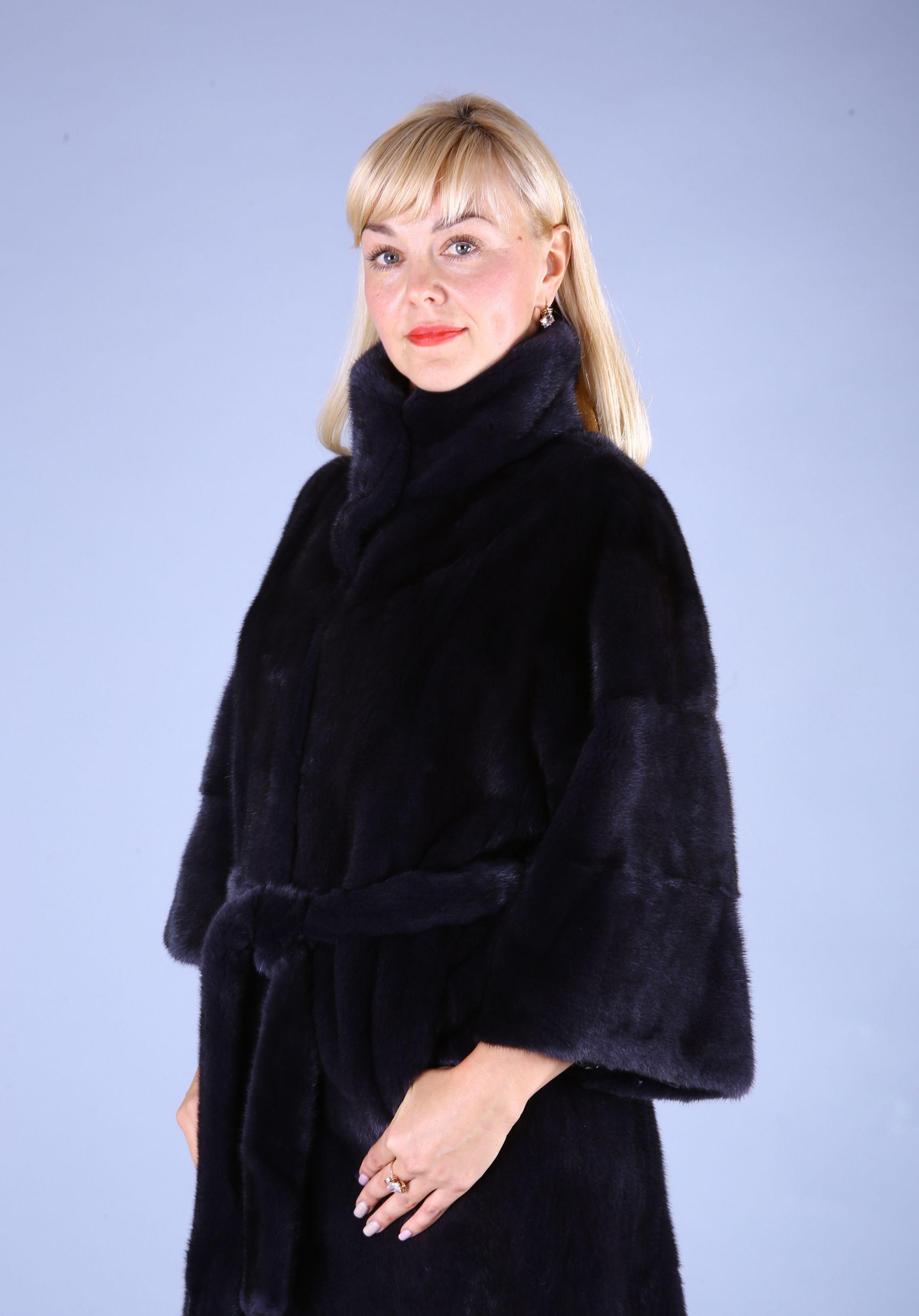 Шуба женская норковая 7506 фото №1