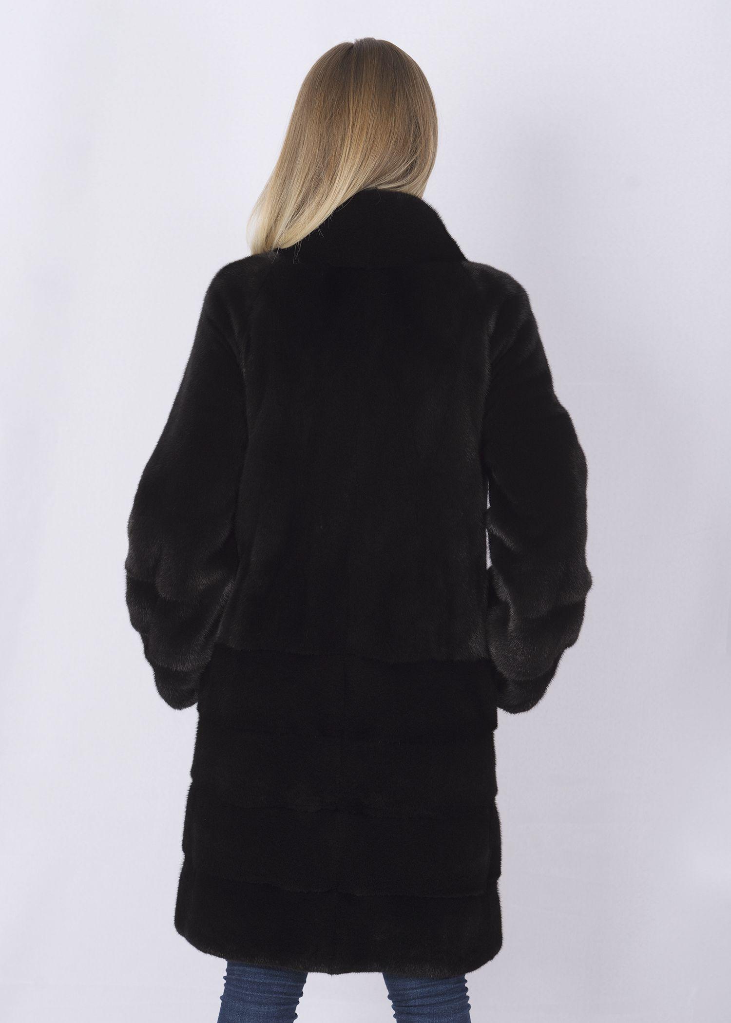 Шуба женская норковая 4061 фото №1