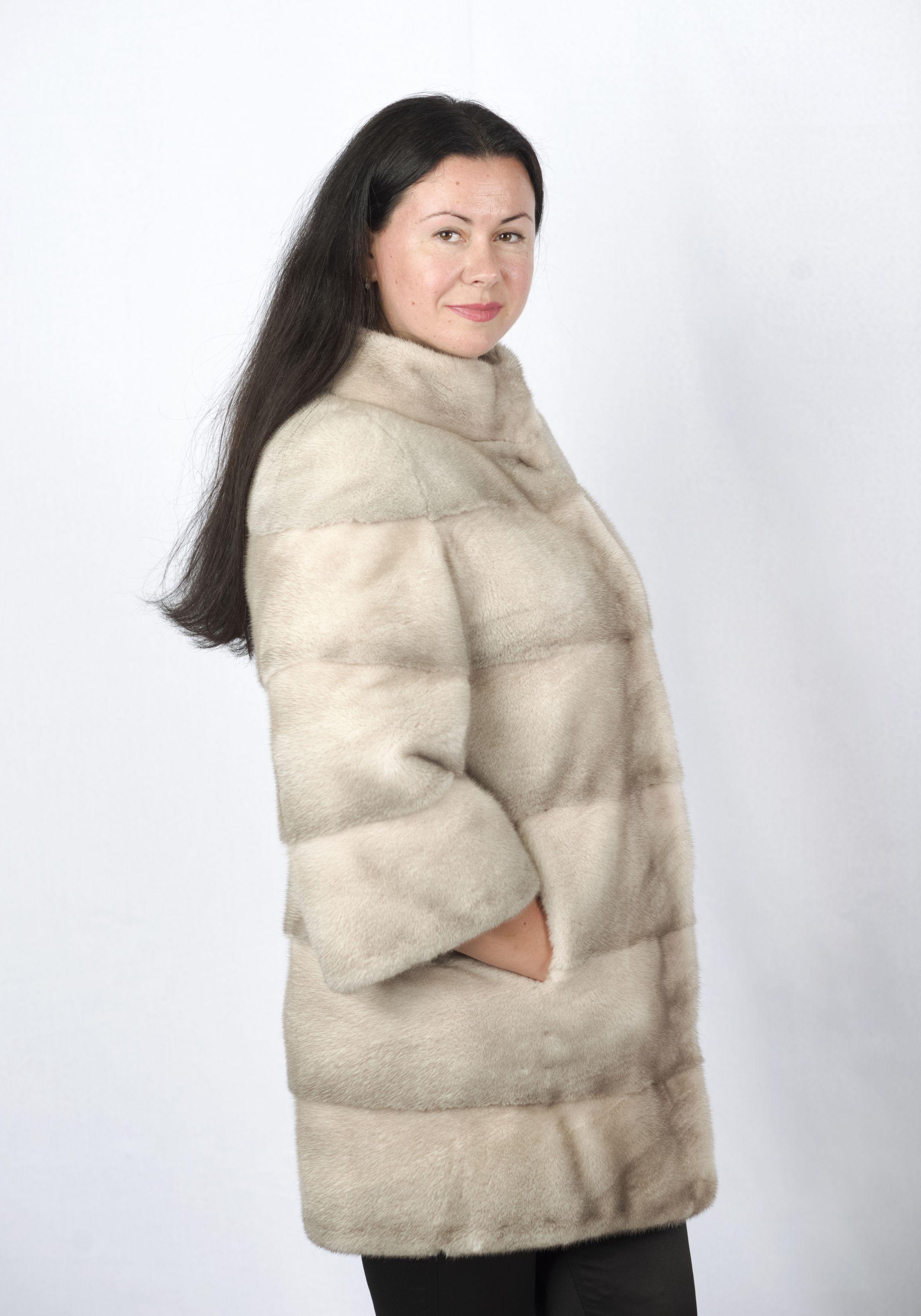 Шуба женская норковая 2786 фото №1