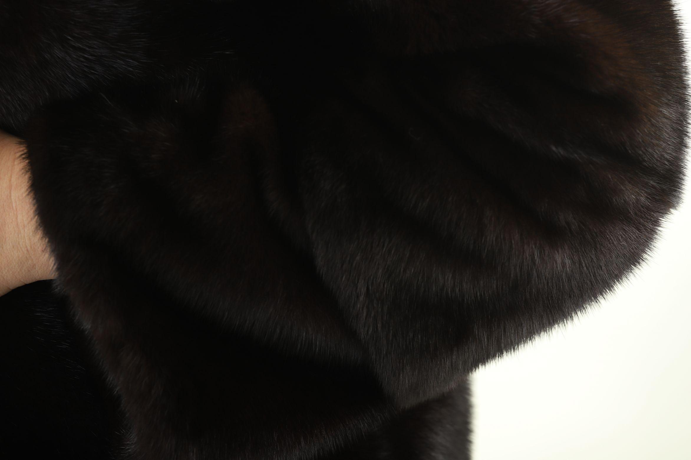 Шуба женская норковая 12224 фото №1
