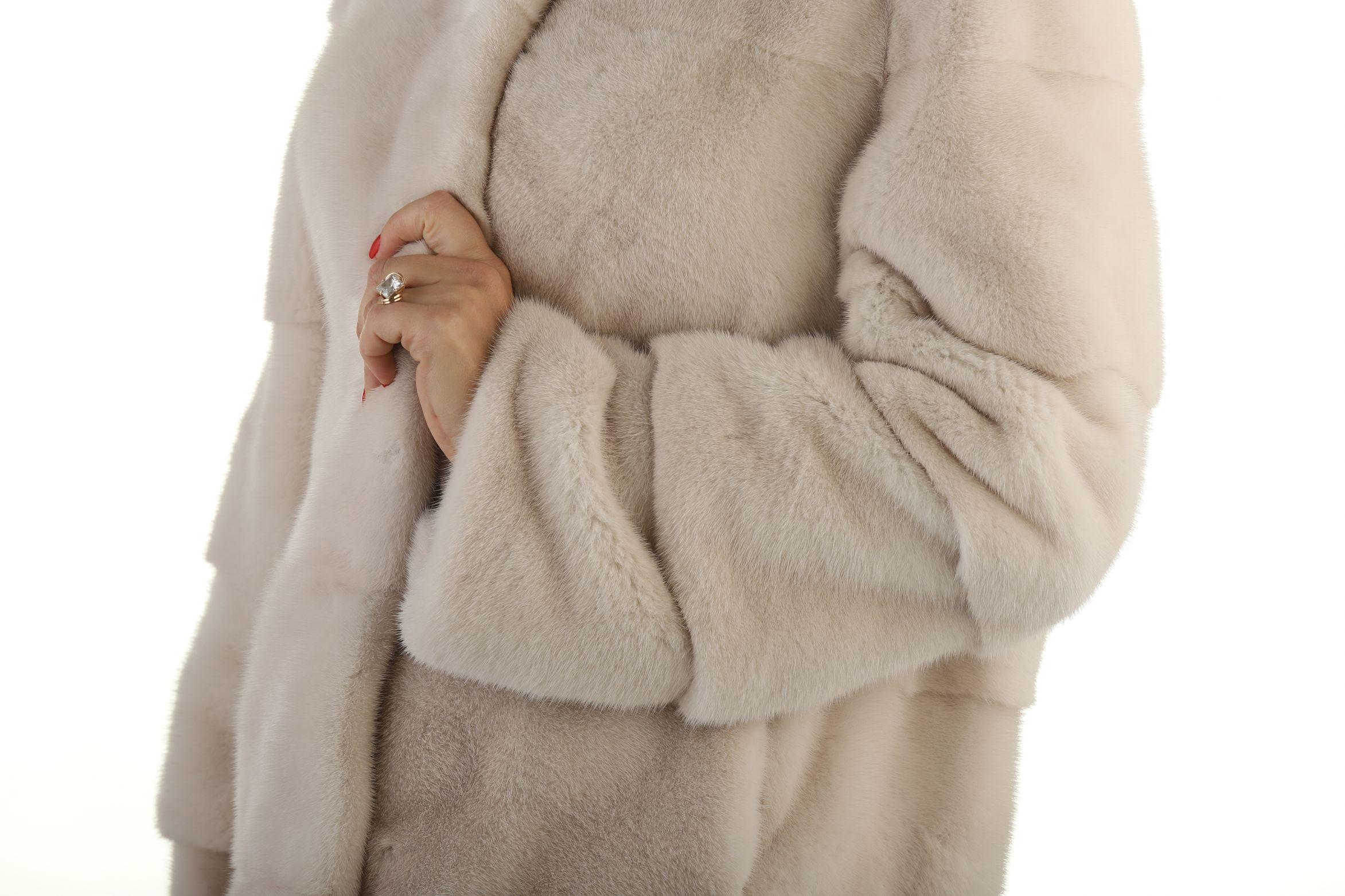 Шуба женская норковая 12222 фото №1