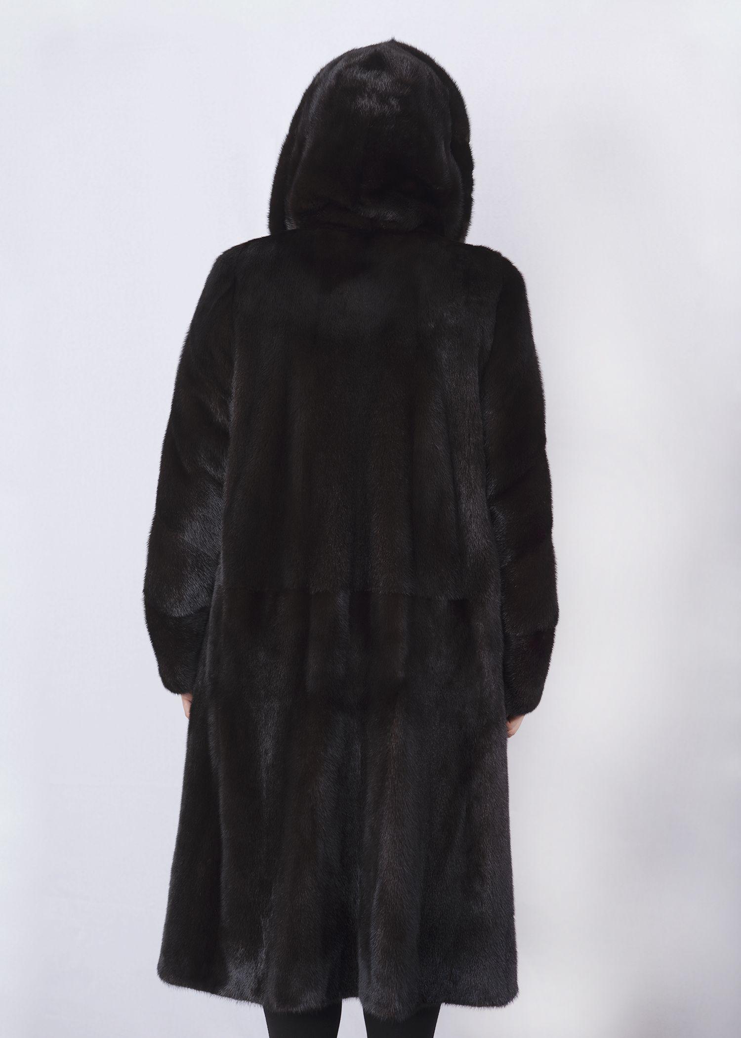 Шуба женская норковая 268 фото №1