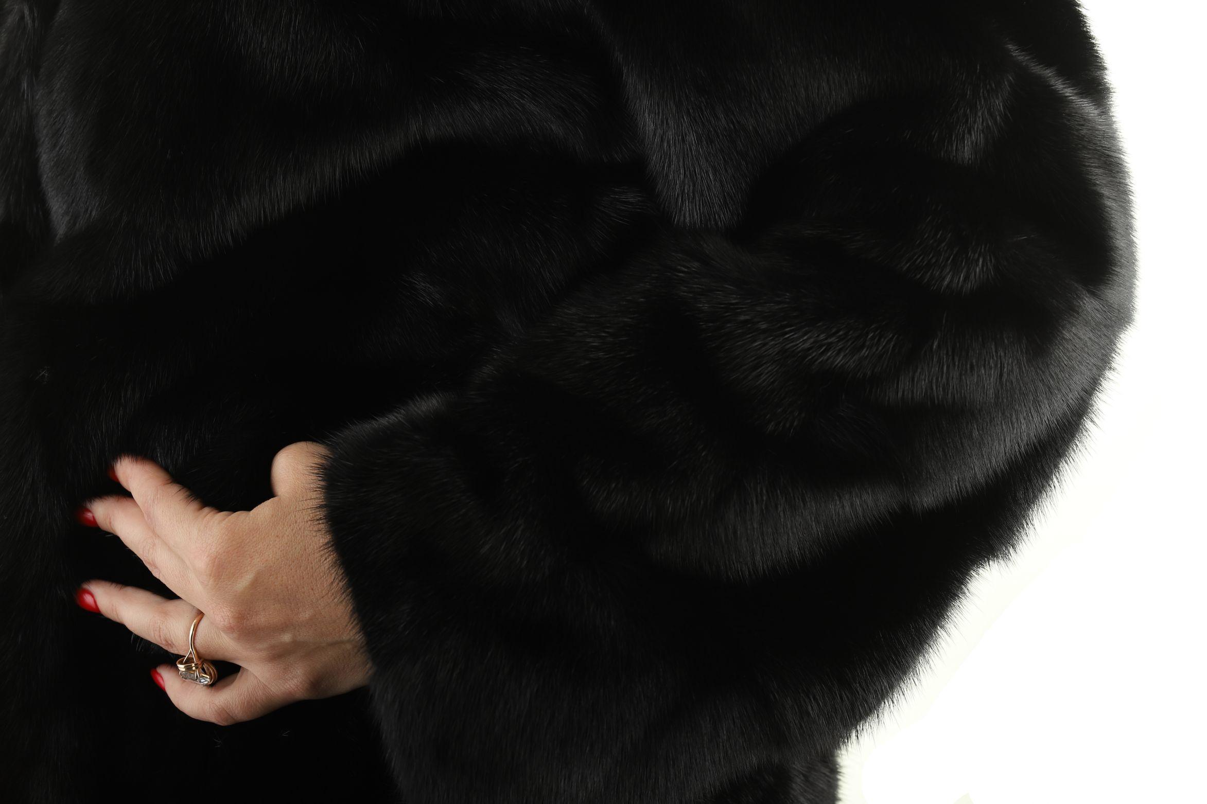 Шуба женская норковая 3002 фото №1