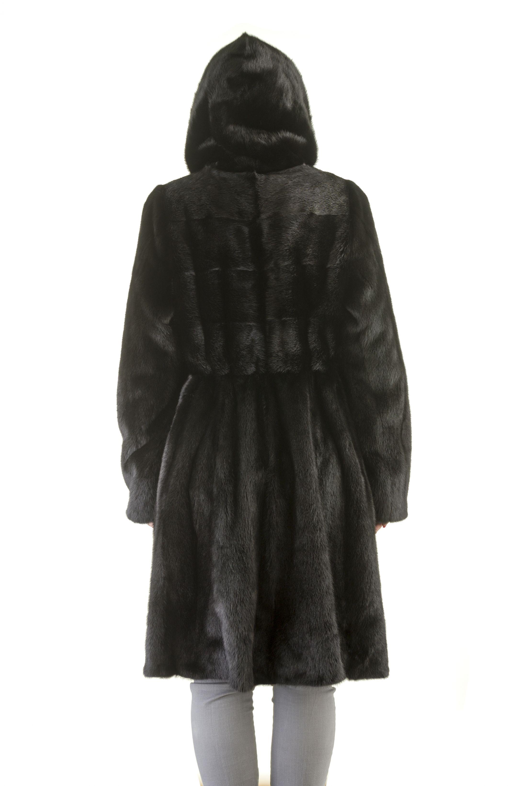 Шуба женская норковая 1802 фото №1