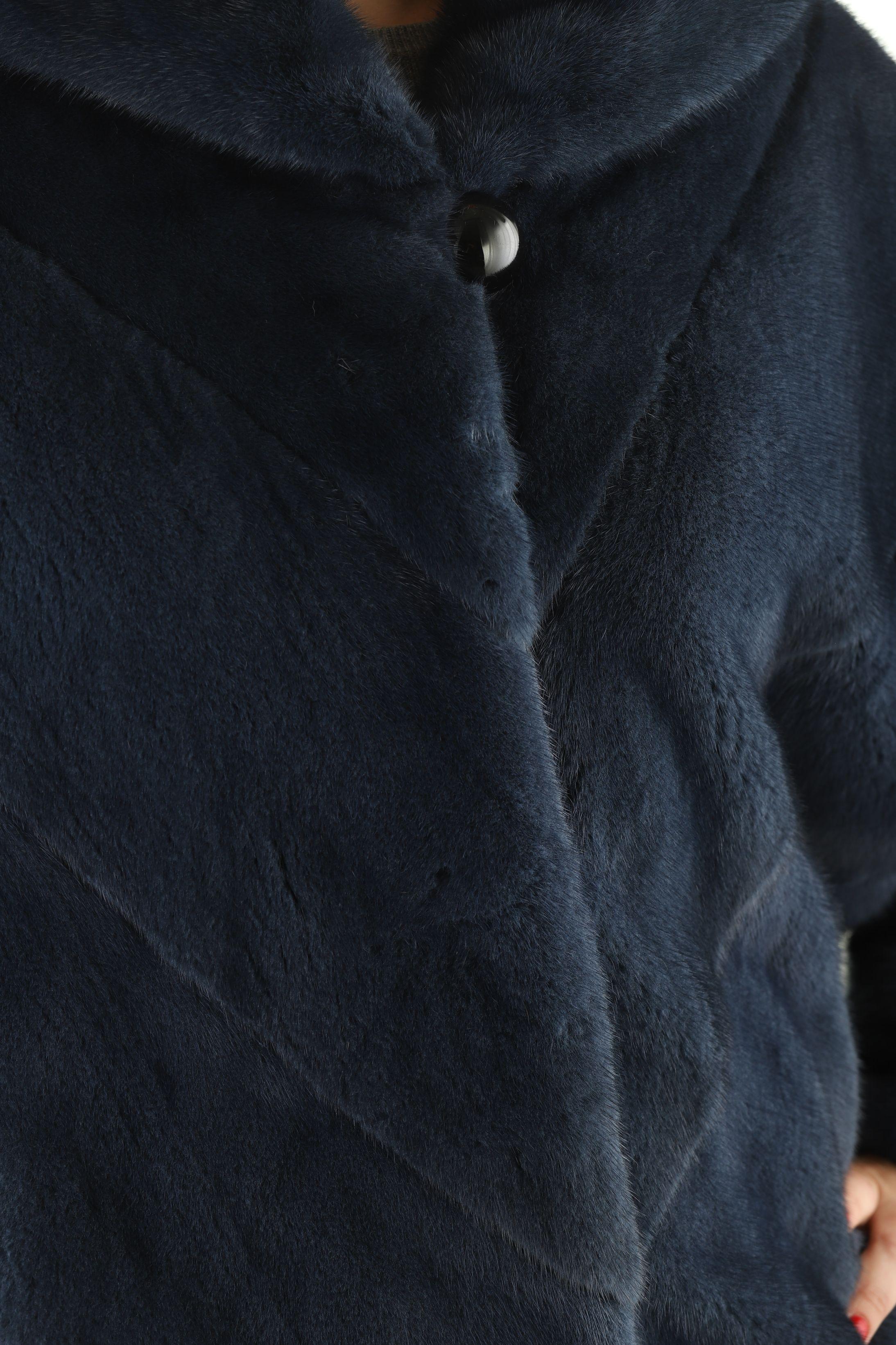 Шуба женская норковая 12194 фото №1