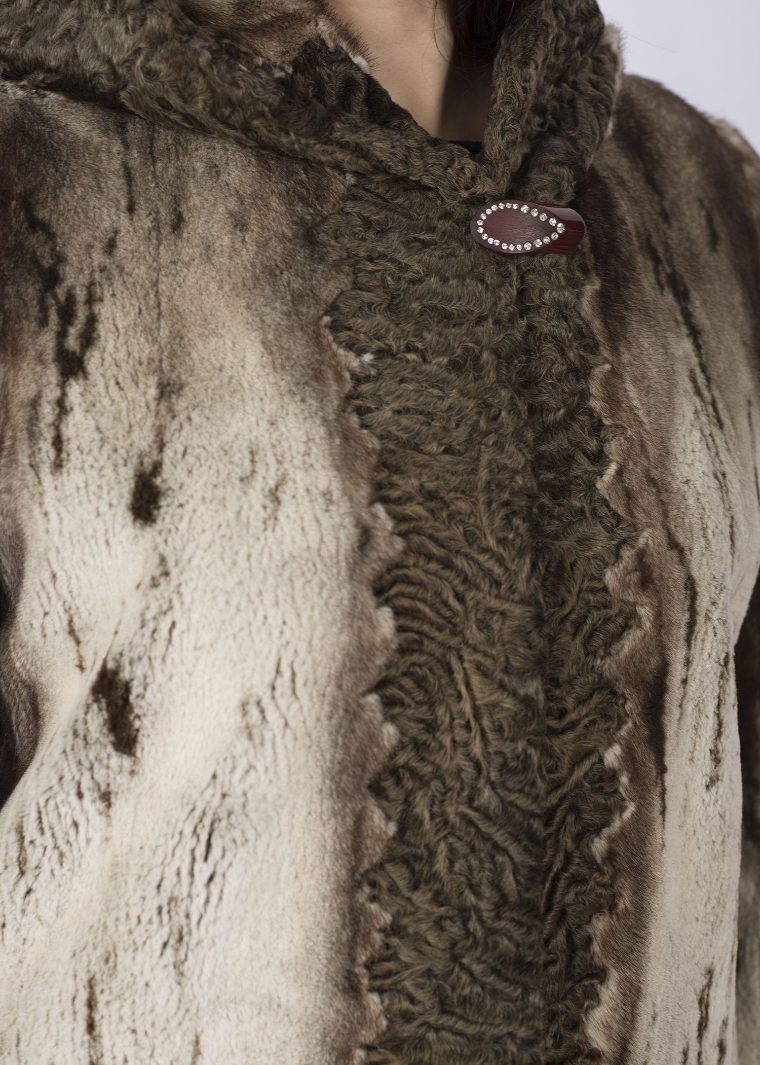 Шуба женская норковая 964270A фото №1