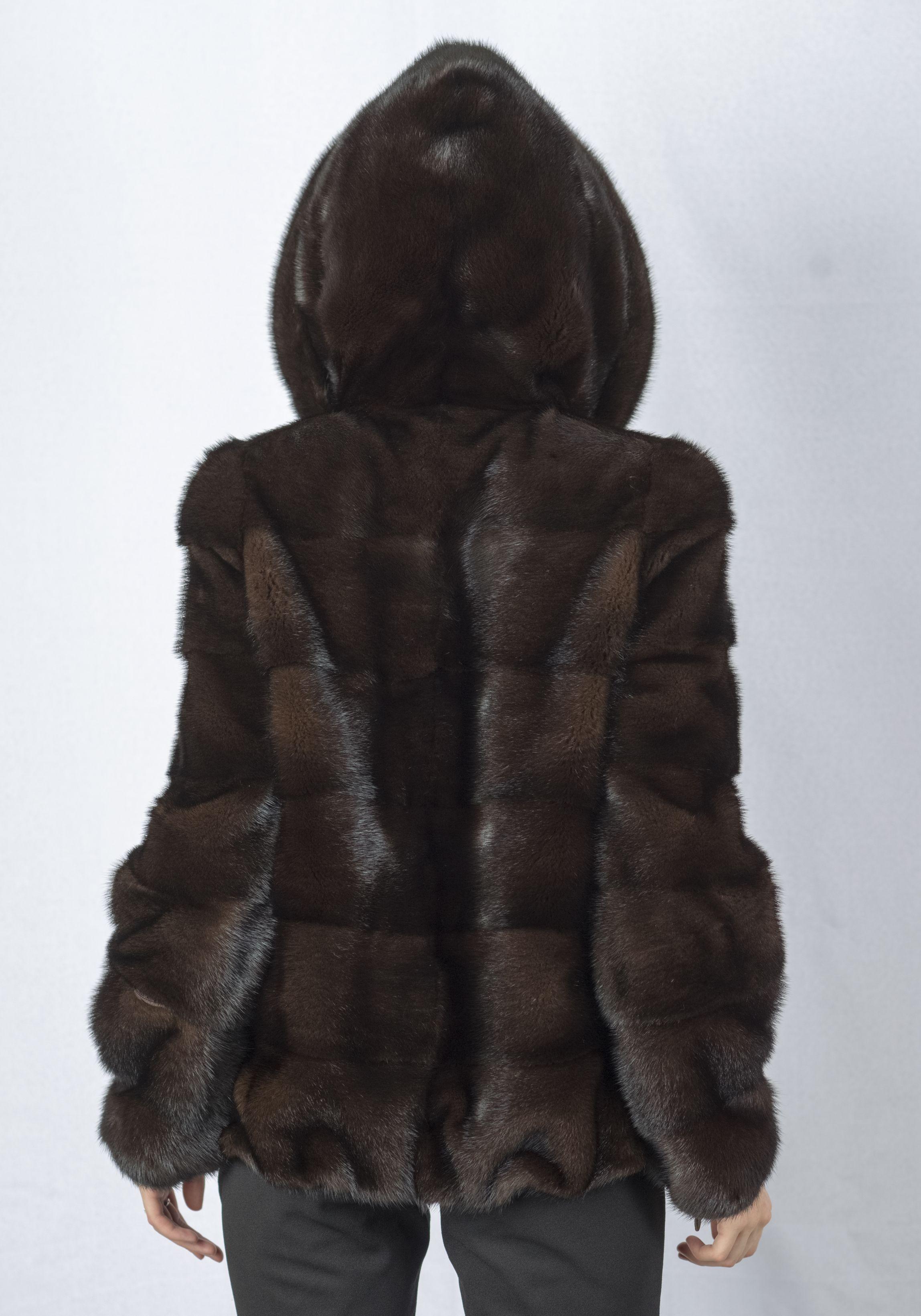Шуба женская норковая 237 фото №1