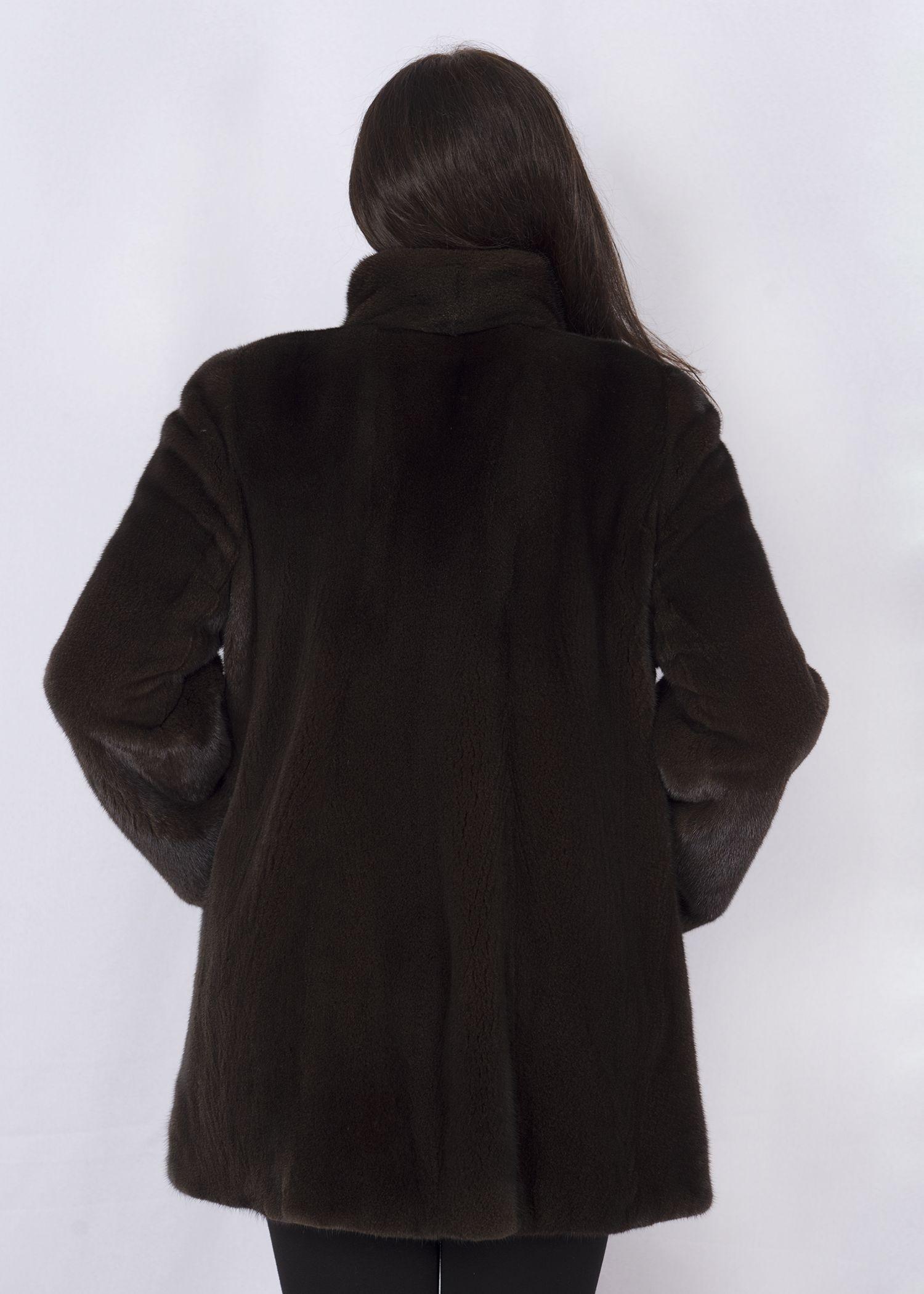Шуба женская норковая 2603ES фото №1