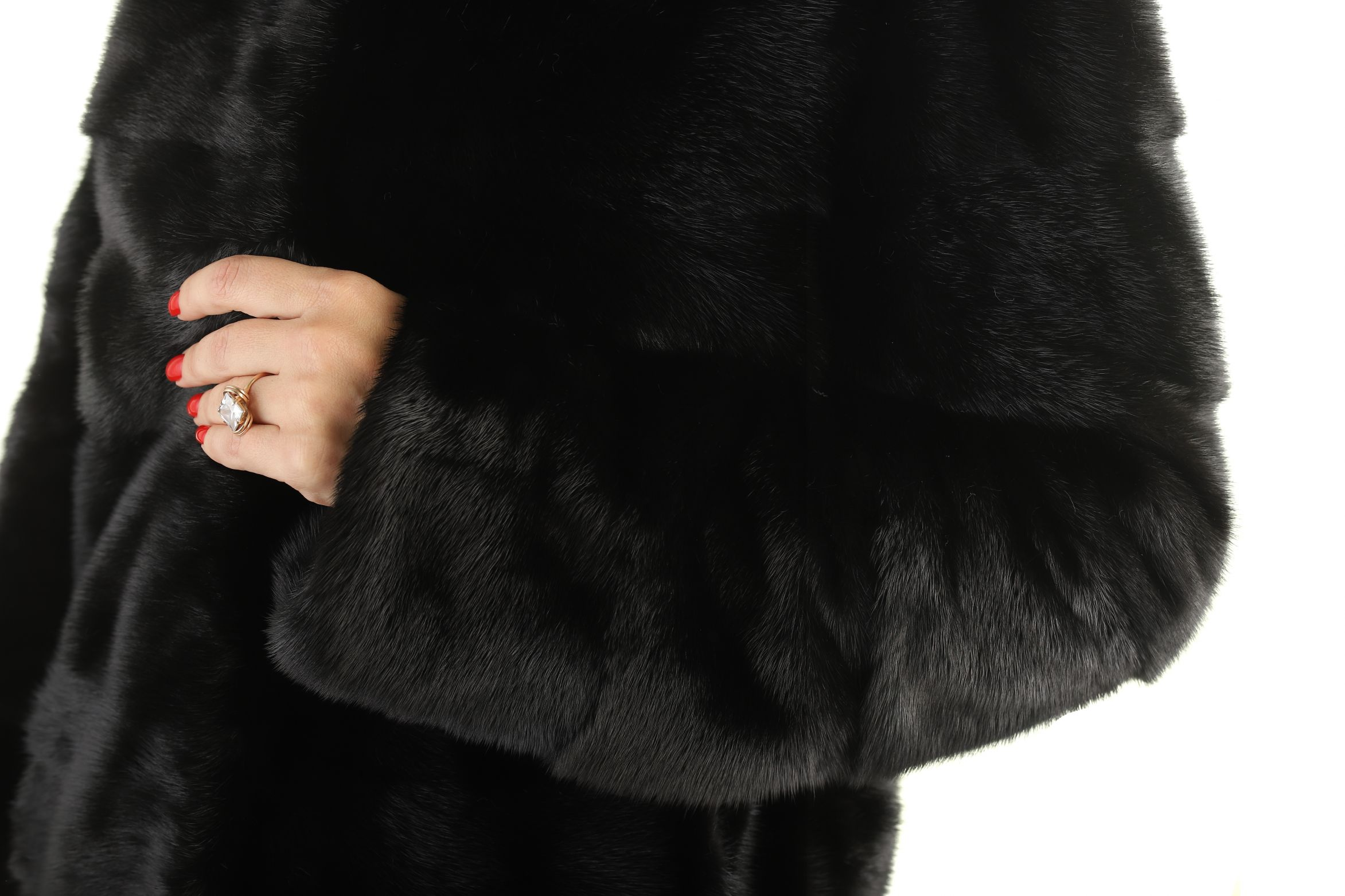 Шуба женская норковая 2021 фото №1