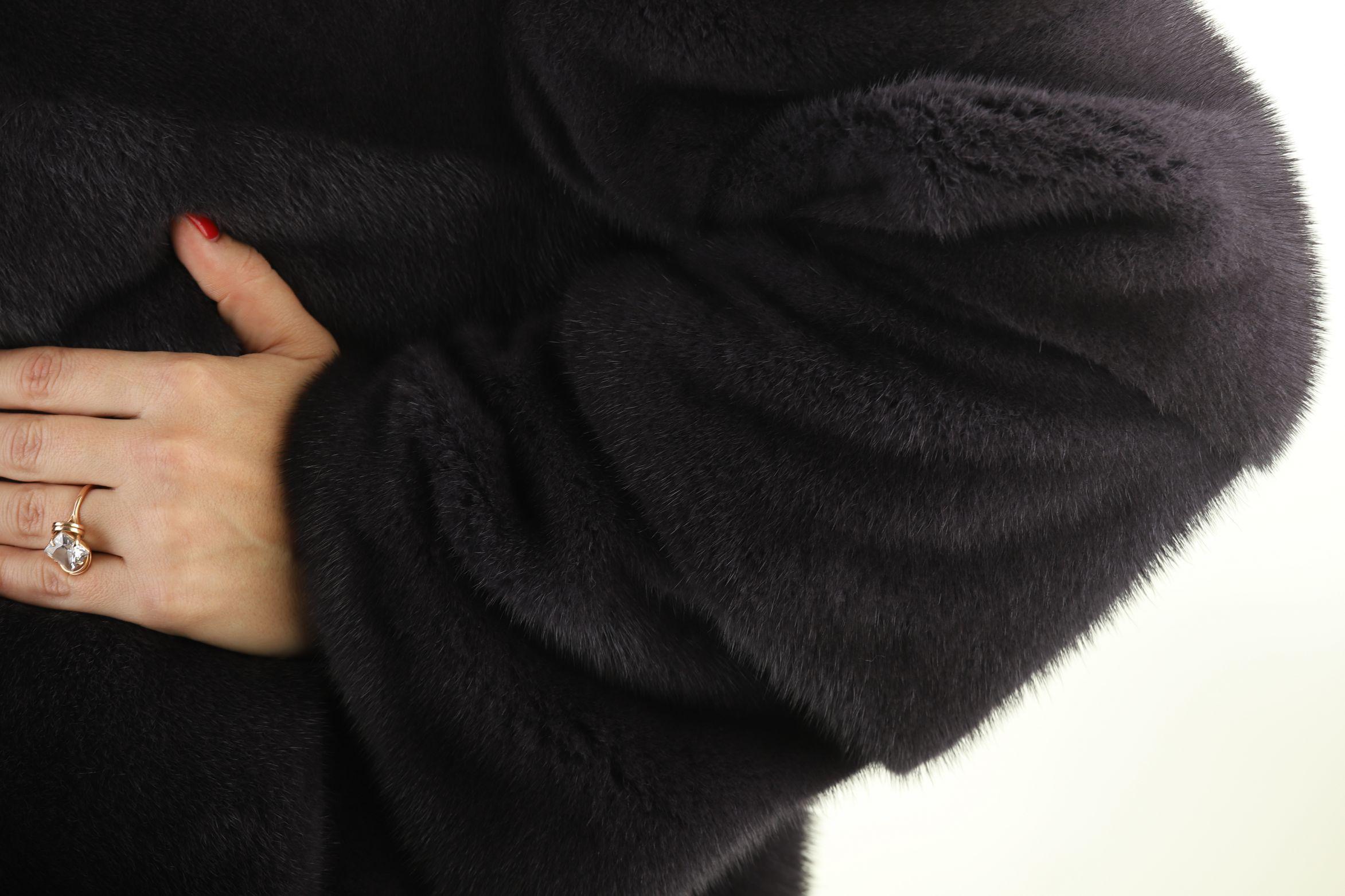 Шуба женская норковая 12221 фото №1