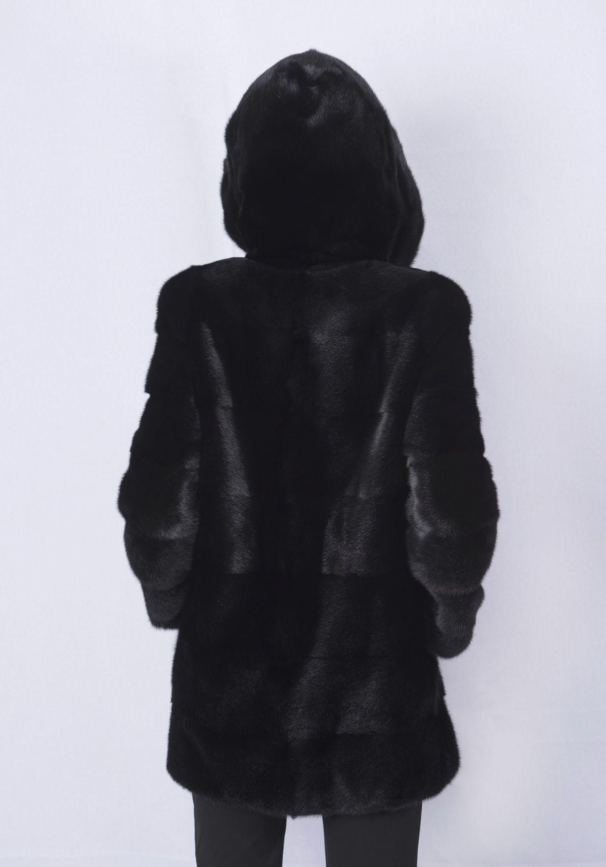 Шуба женская норковая 212 фото №1