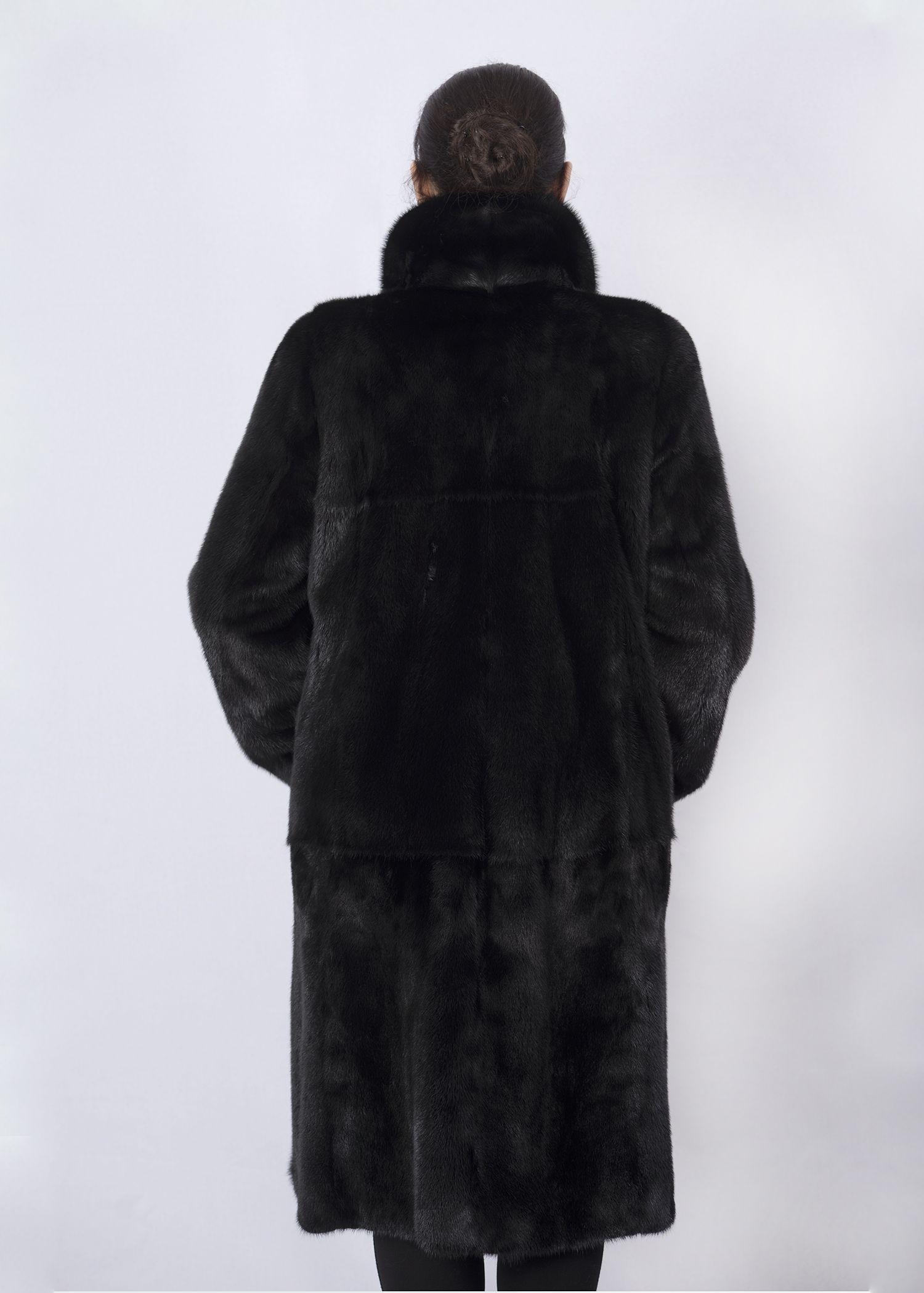 Шуба женская норковая 02-3CP фото №1