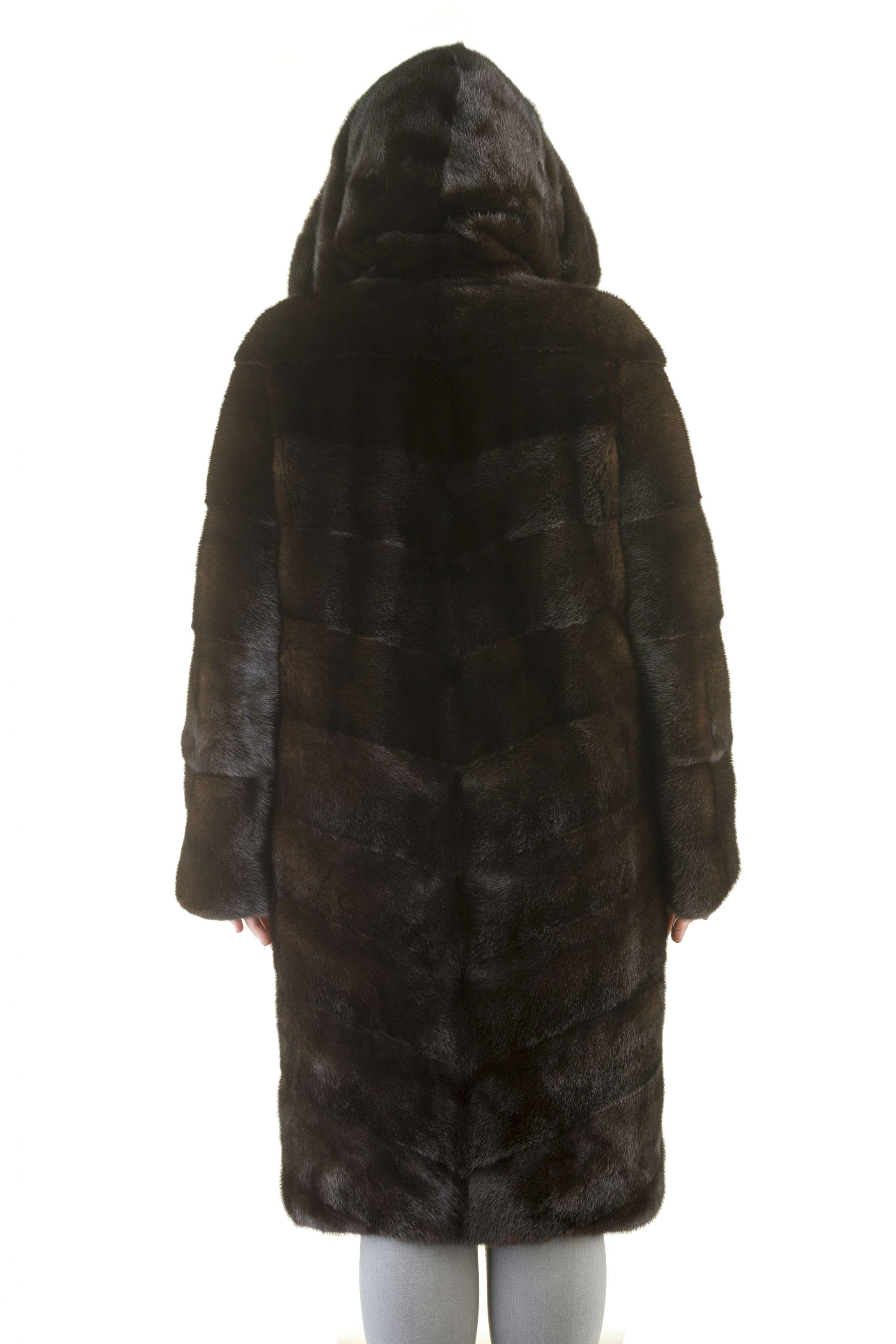 Шуба женская норковая 12200 фото №1