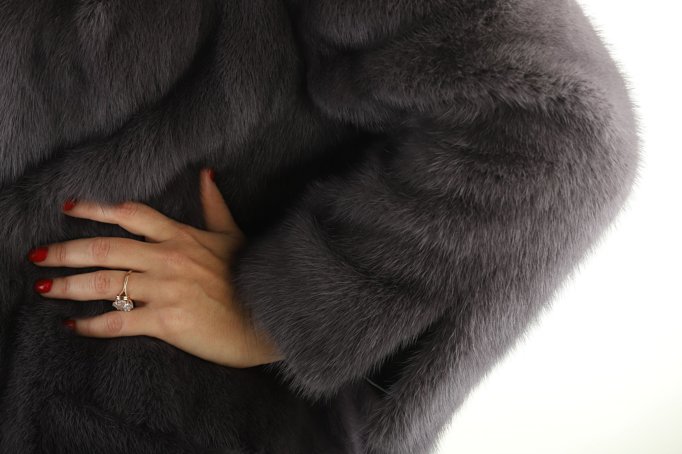 Шуба женская норковая 18710 фото №1
