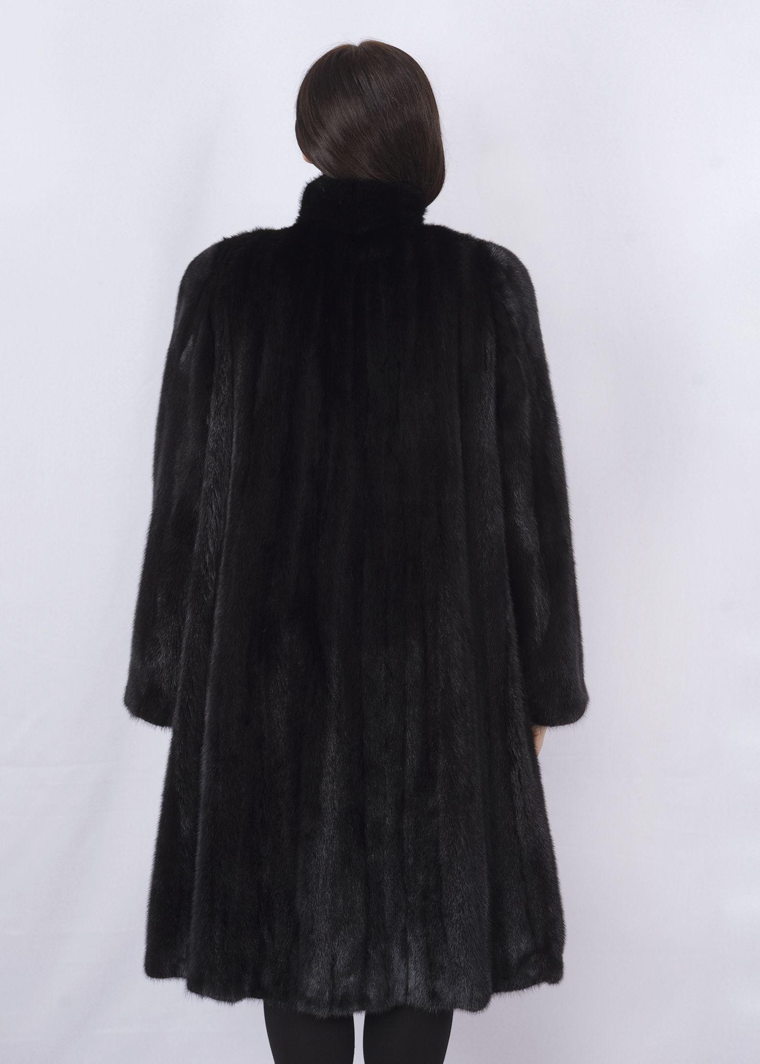 Шуба женская норковая 2603DS фото №1