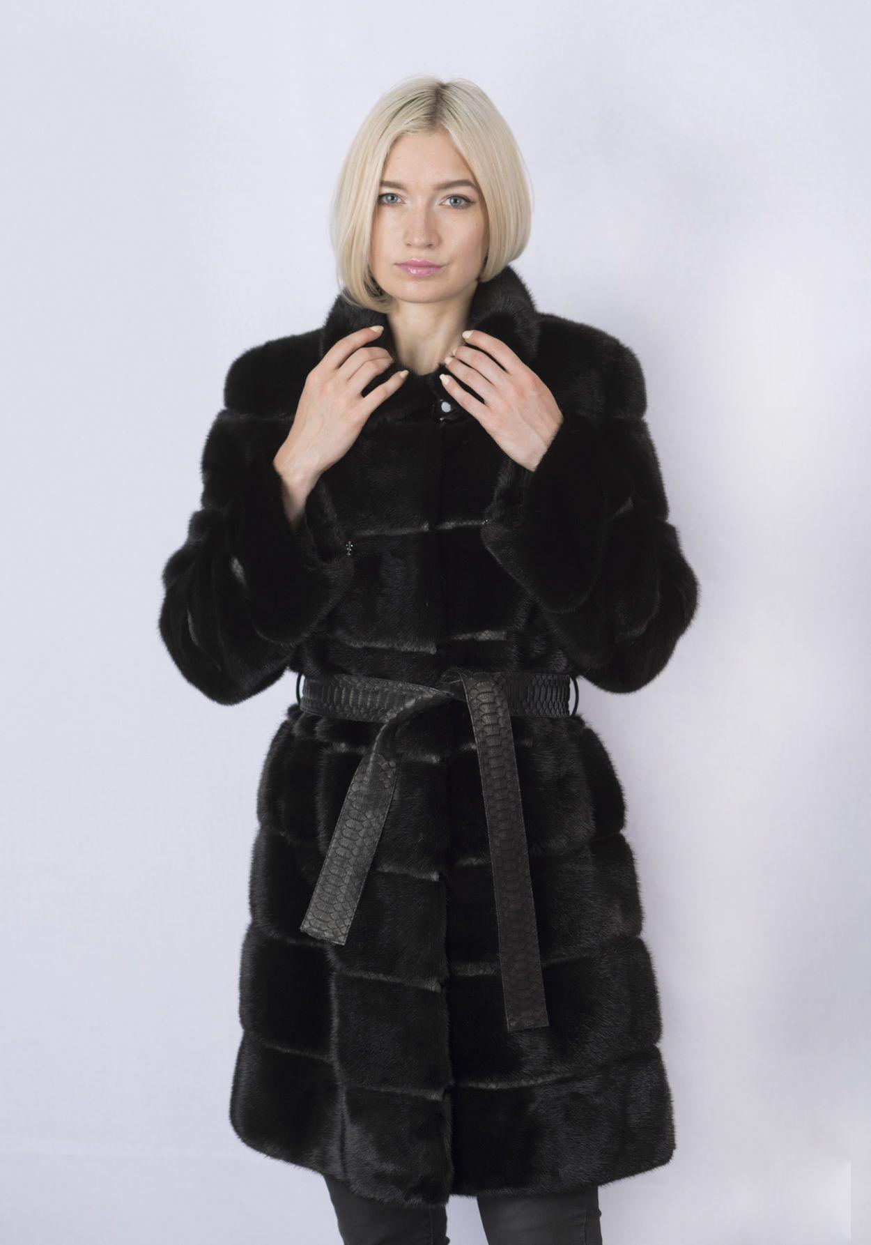 Шуба женская норковая GSR-2248 фото №1