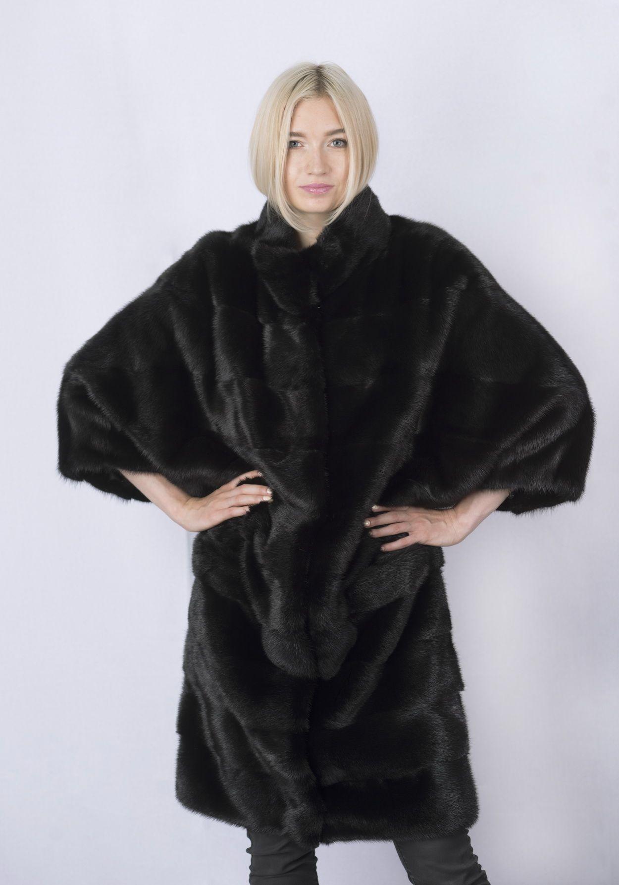 Шуба женская норковая 264 фото №1