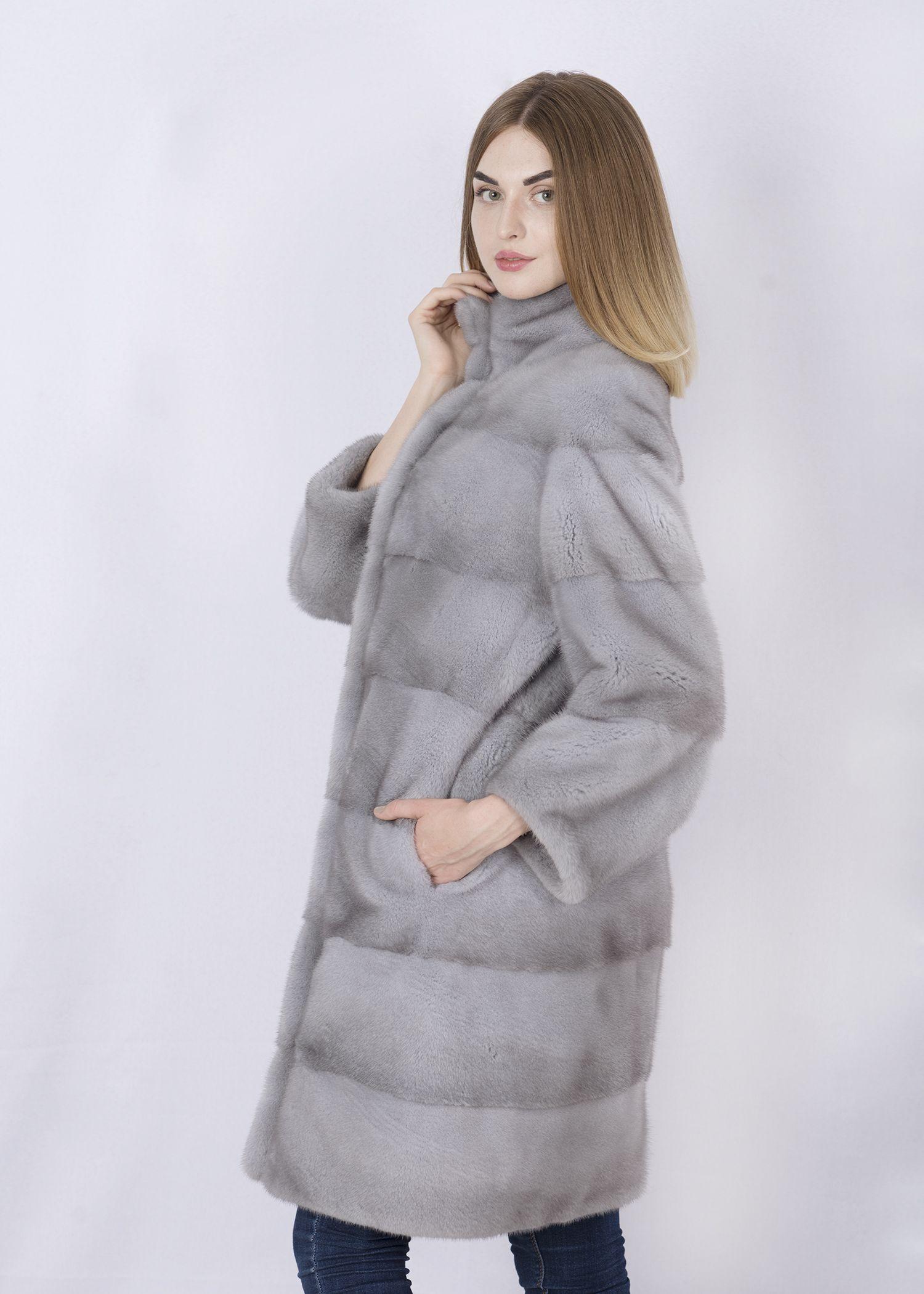 Шуба женская норковая 2802 фото №1