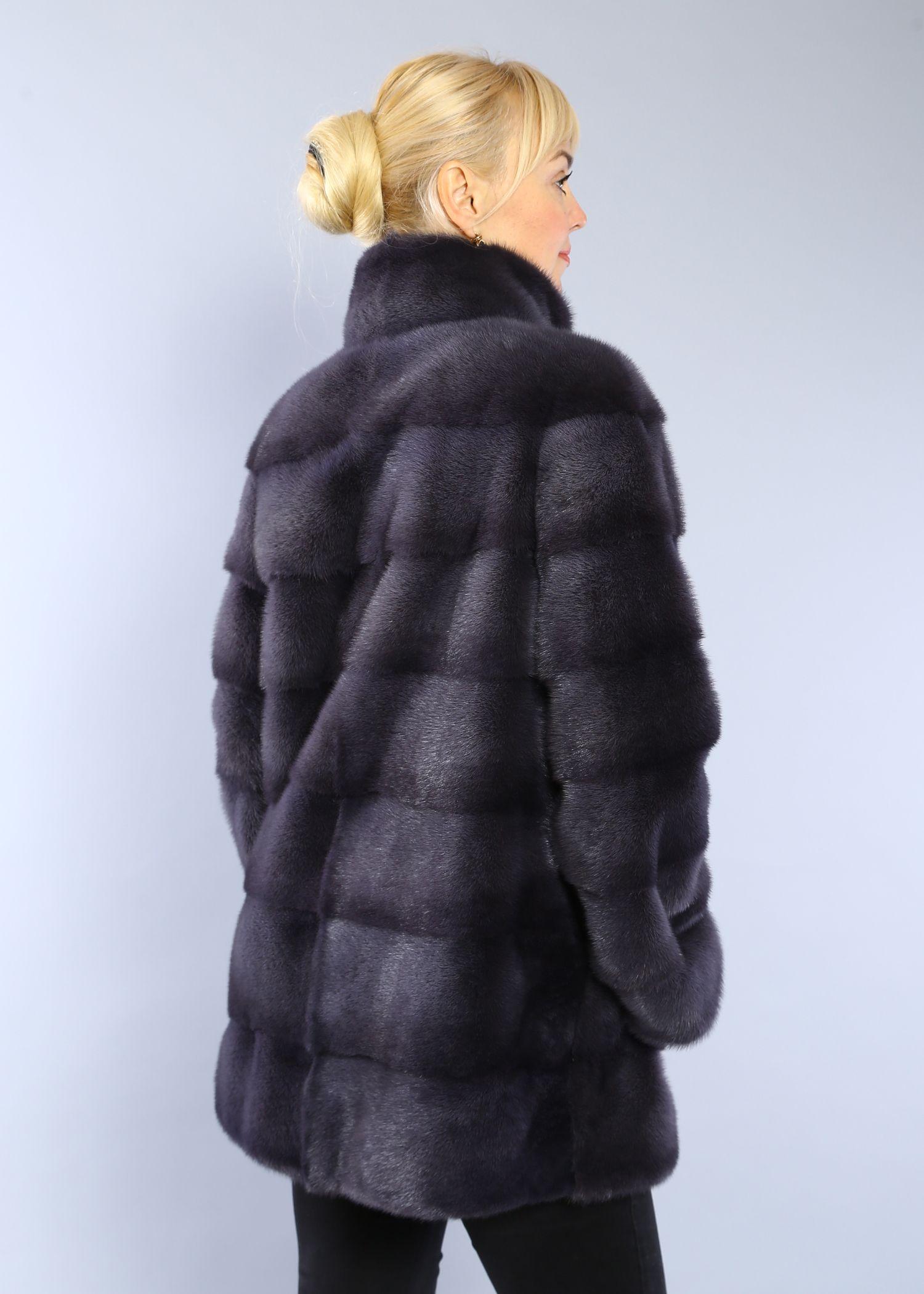 Шуба женская норковая 20645 фото №1
