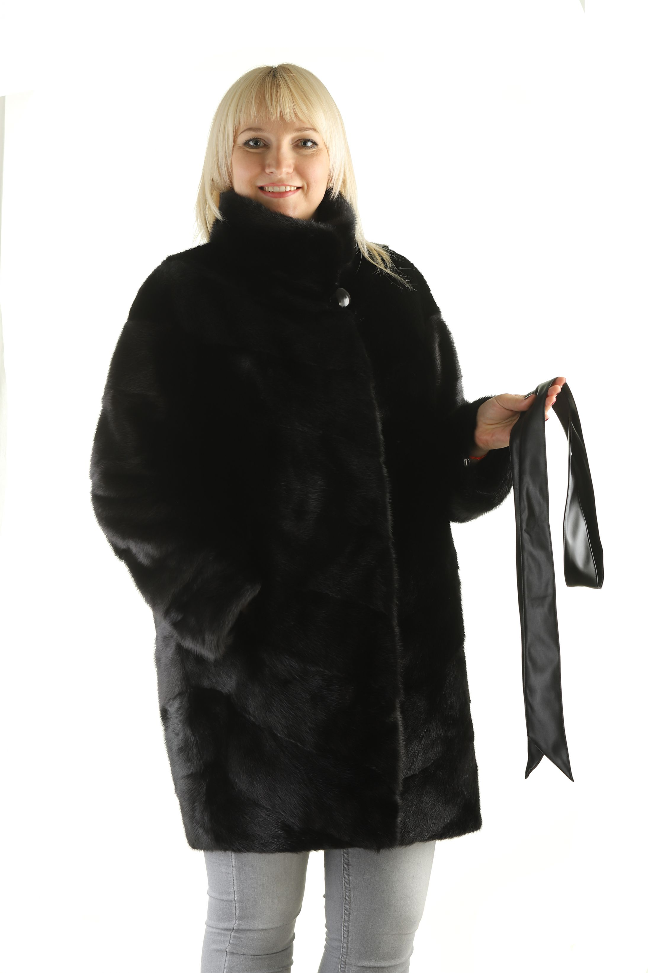 Шуба женская норковая 70 фото №1