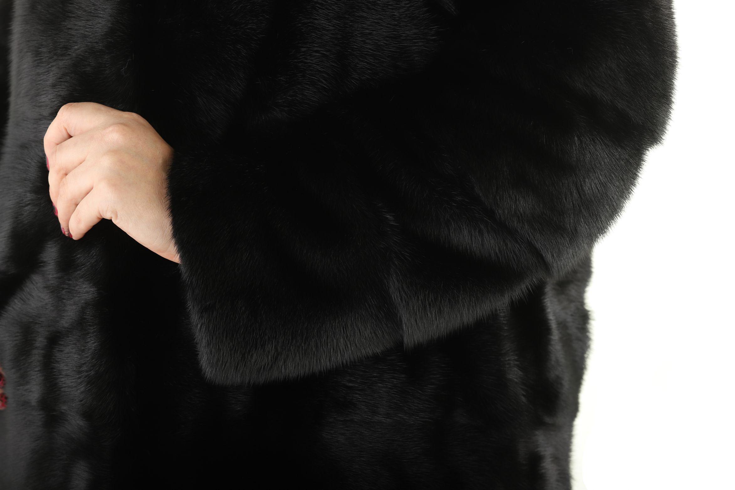 Шуба женская норковая 2105LM фото №1