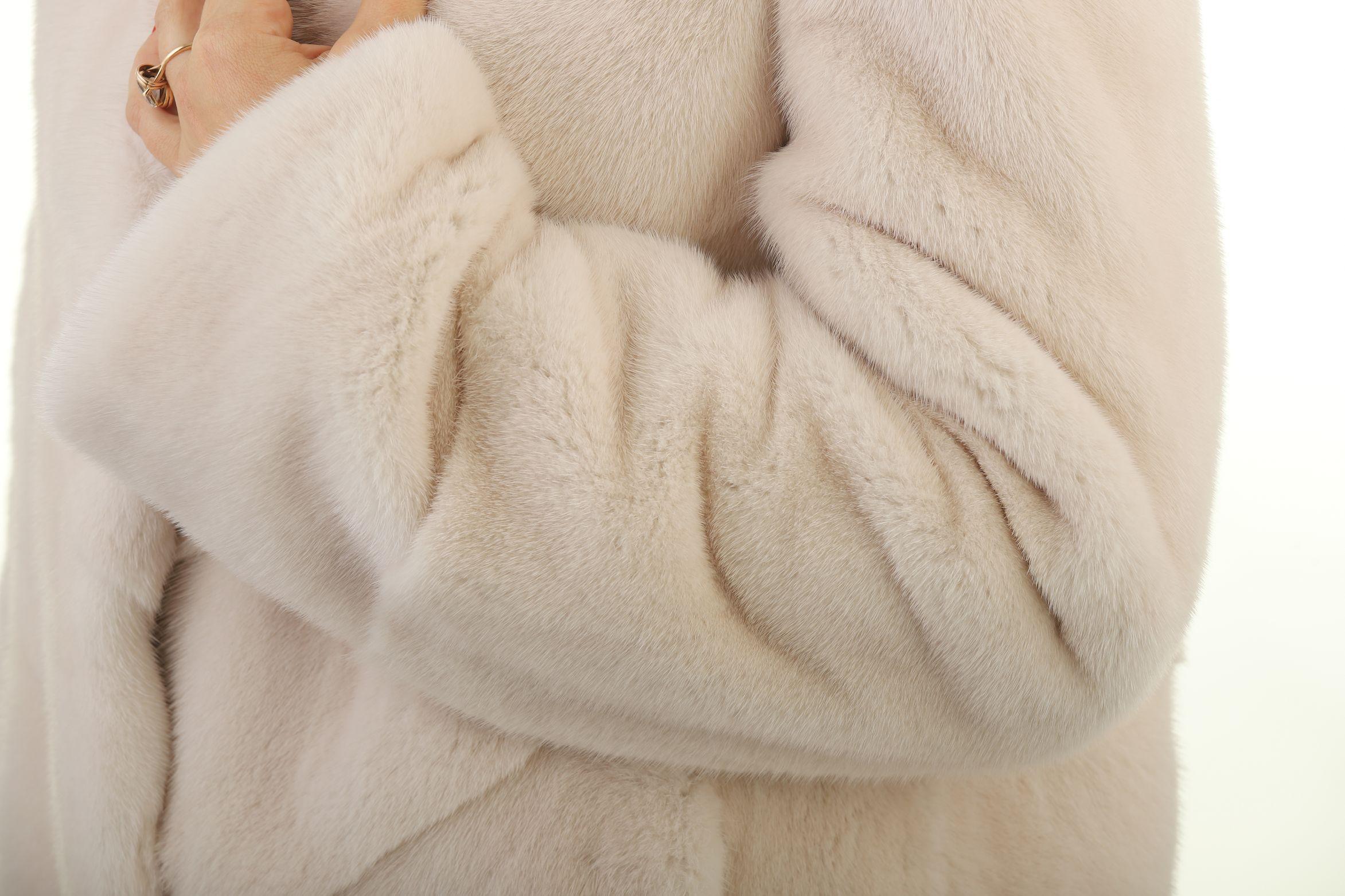 Шуба женская норковая 12233 фото №1