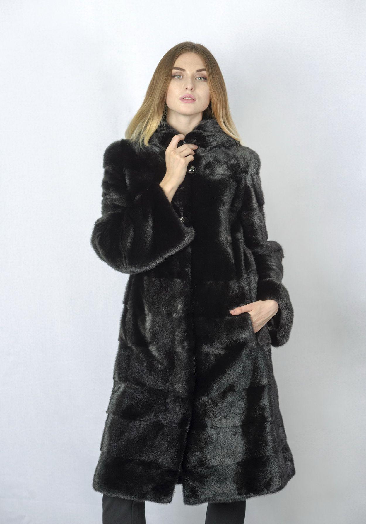 Шуба женская норковая 234 фото №1