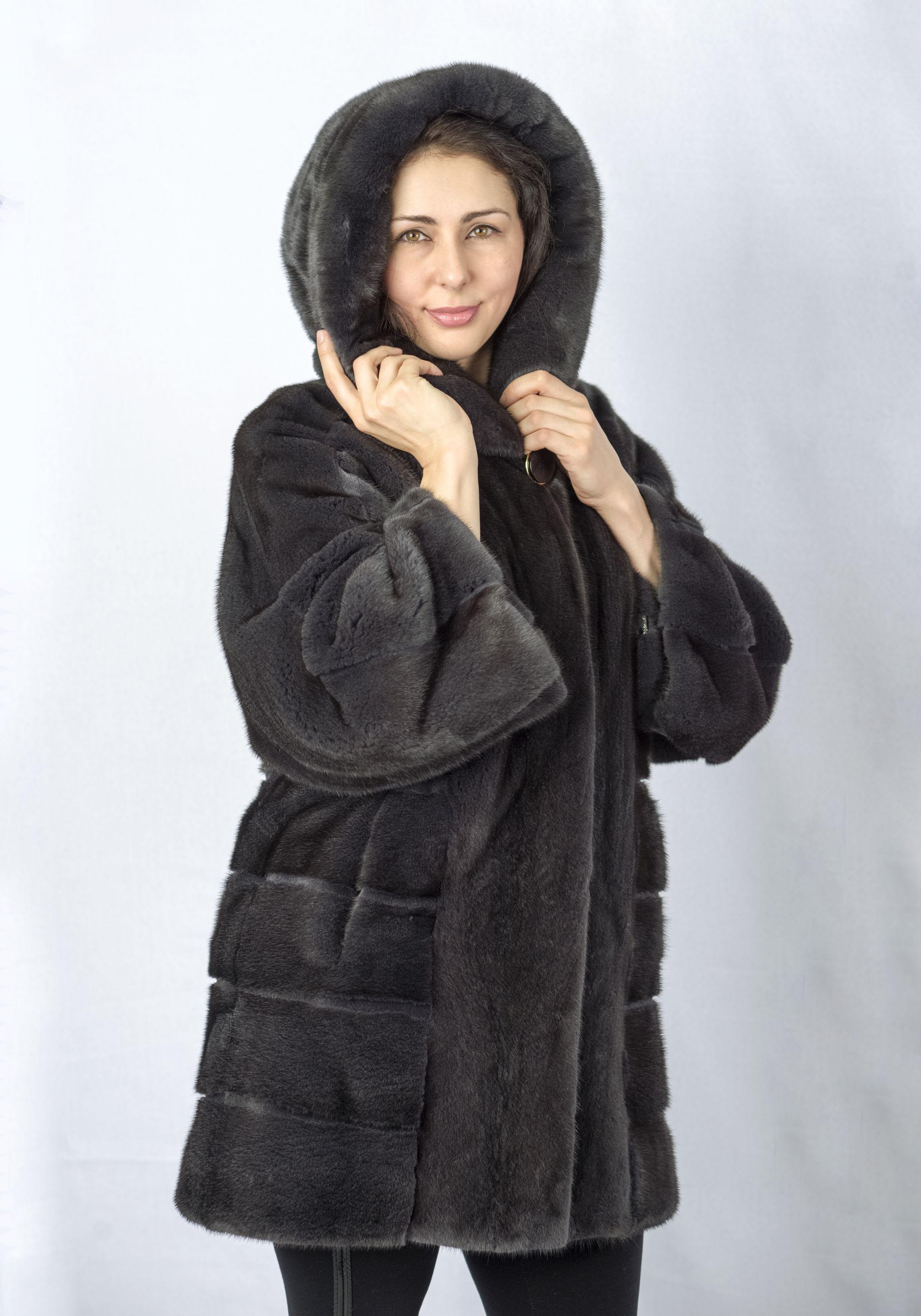 Шуба женская норковая CO845 фото №1