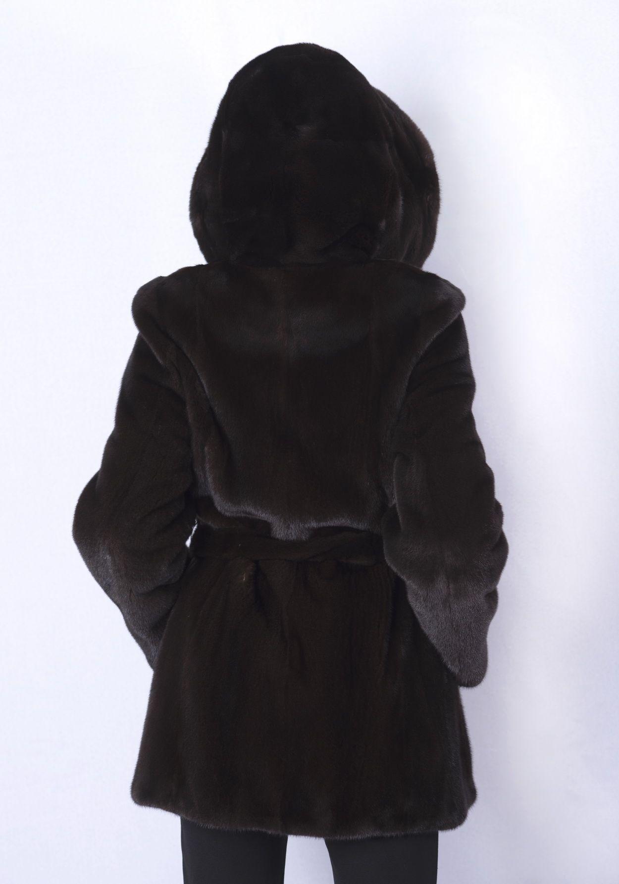 Шуба женская норковая 2034А фото №1