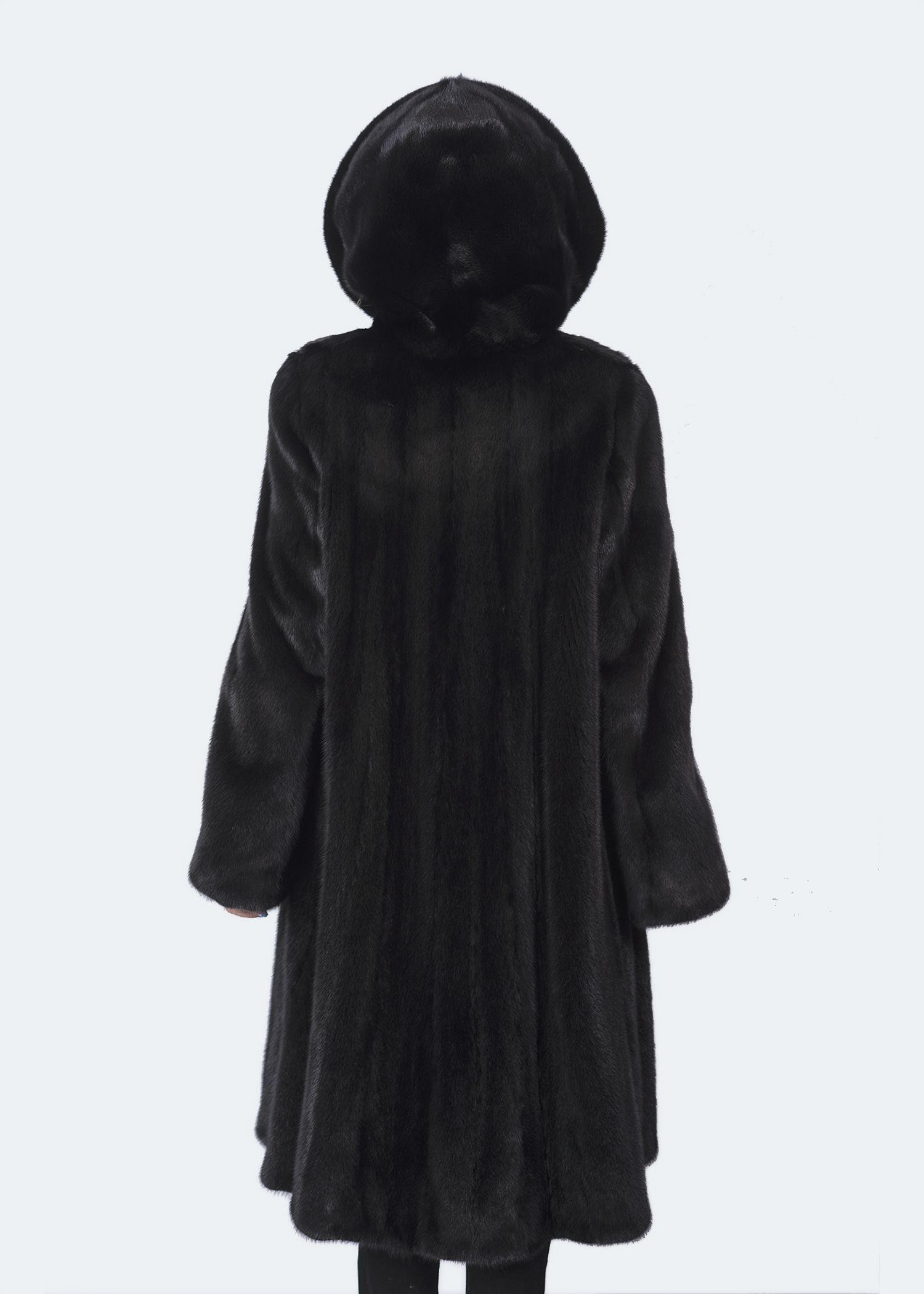Шуба женская норковая 11-11-877 фото №1
