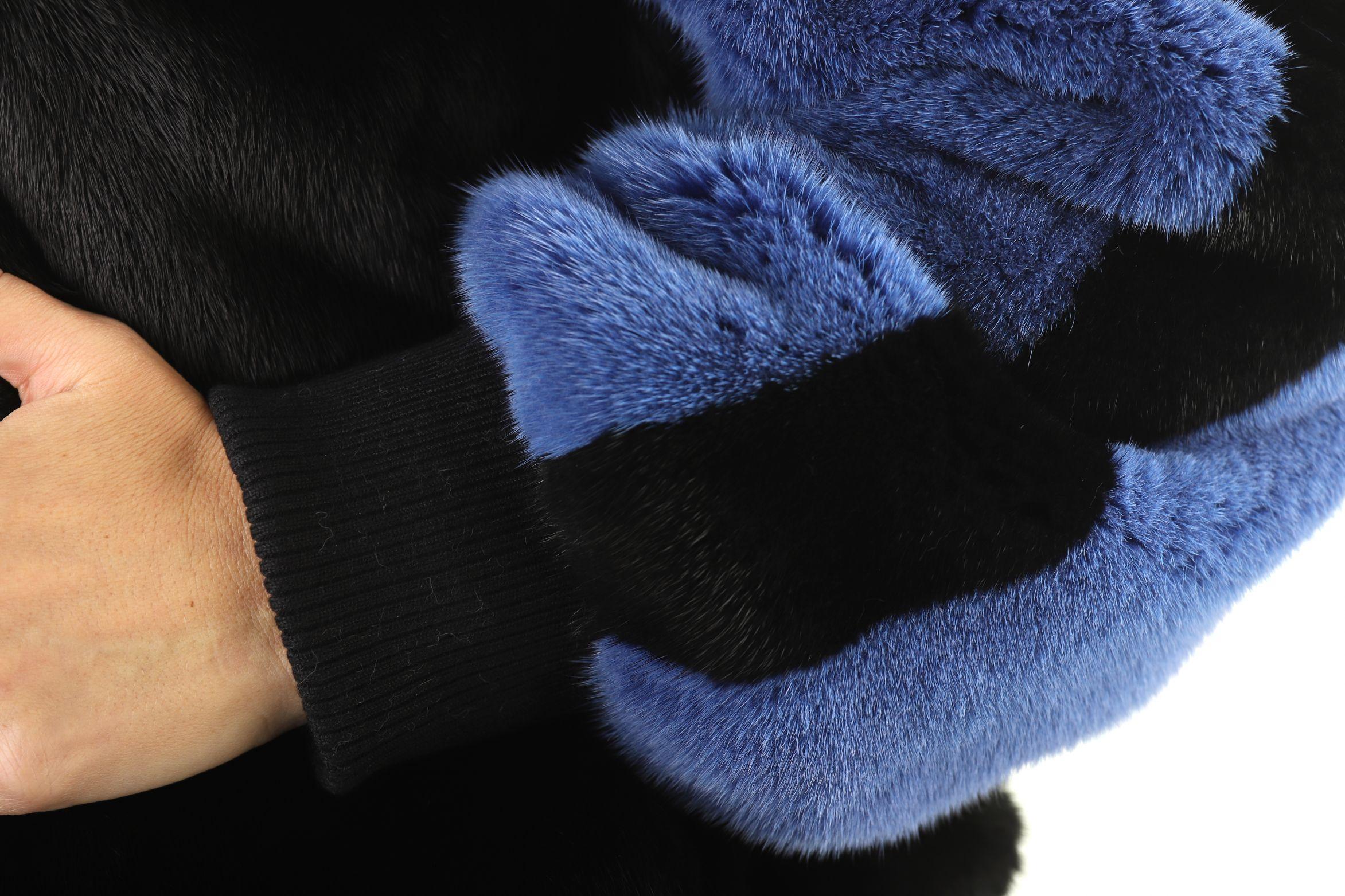 Шуба женская норковая 12197 фото №1