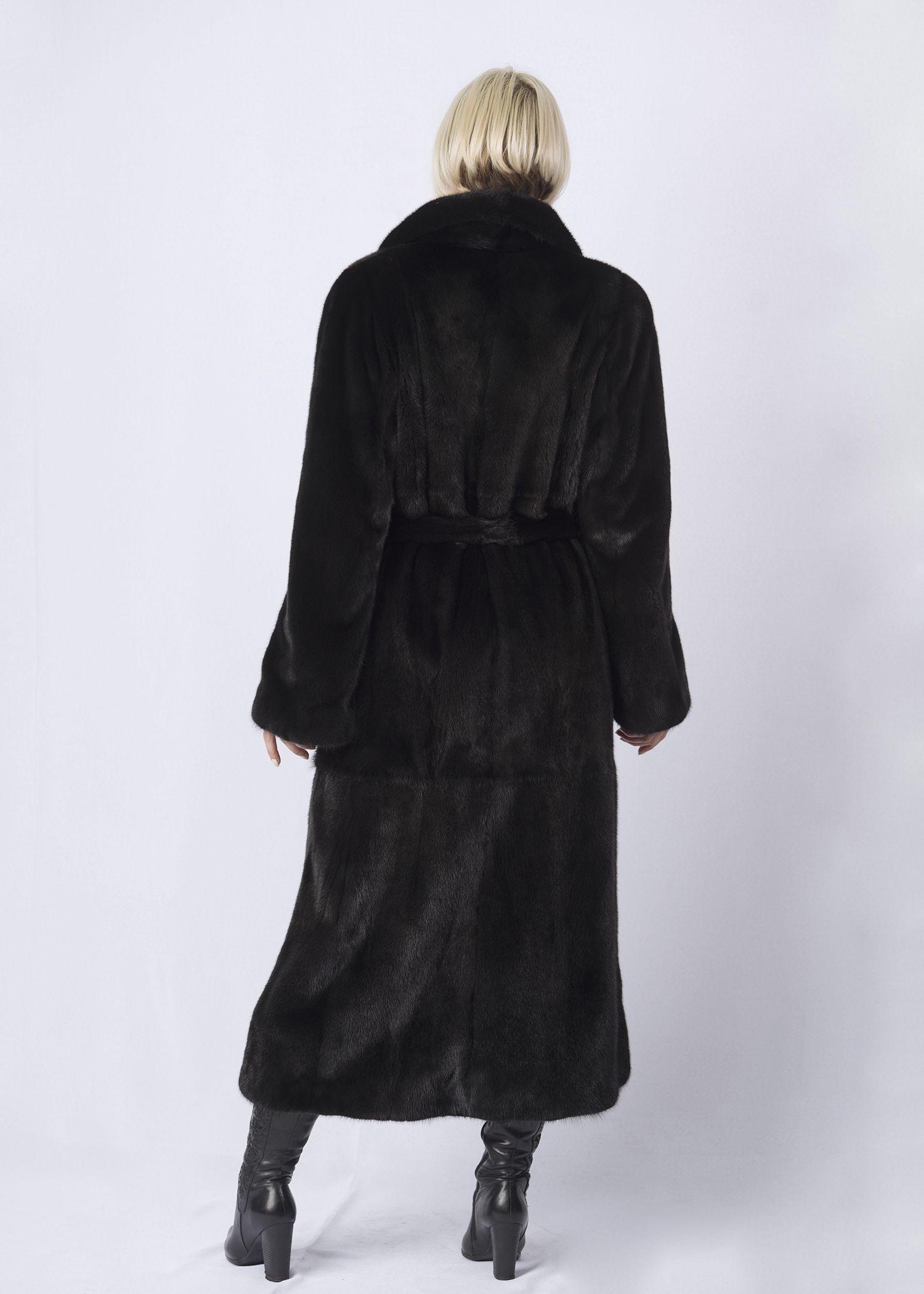 Шуба женская норковая 2623ZP-135 фото №1