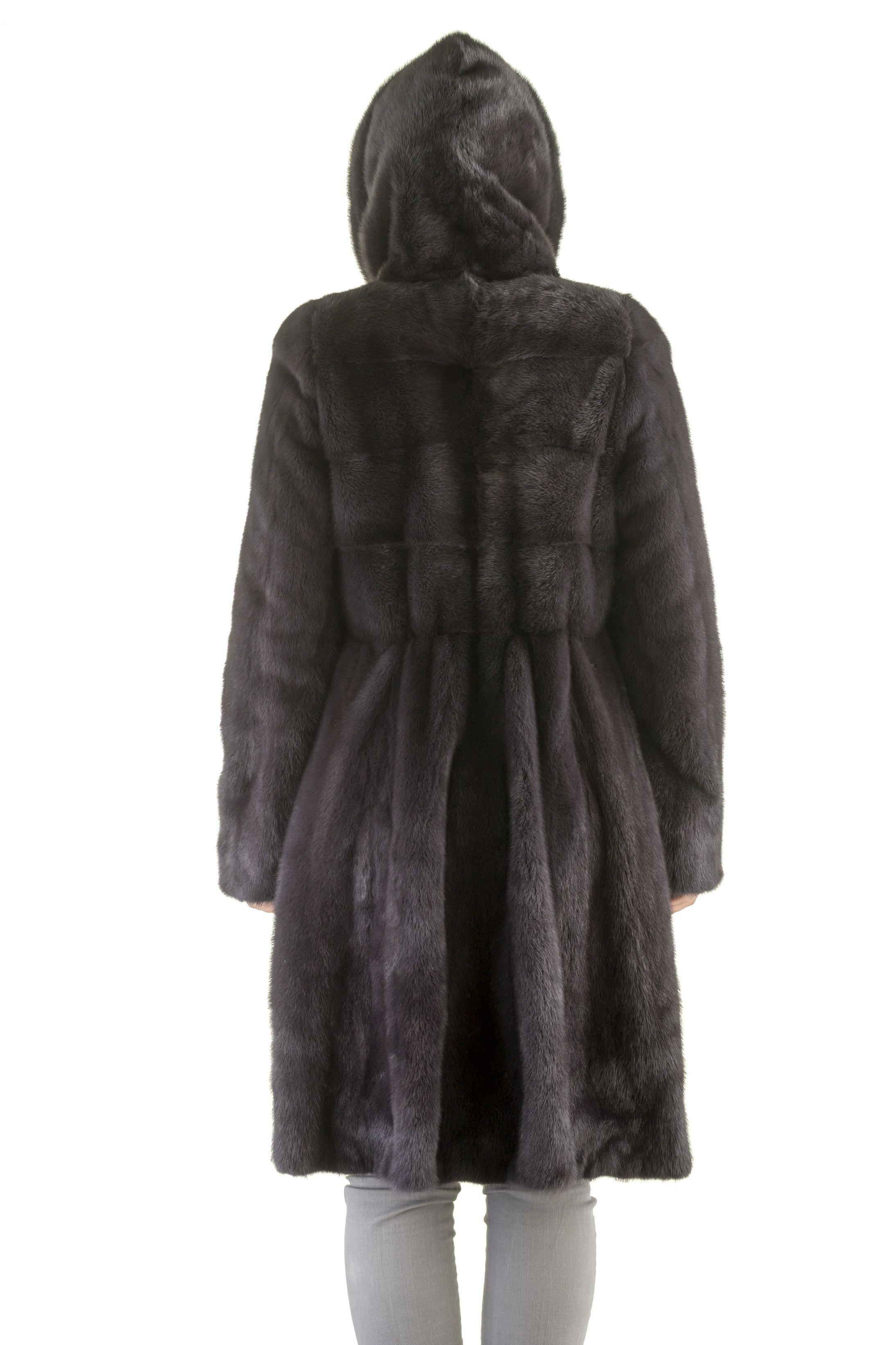 Шуба женская норковая 1802-2 фото №1