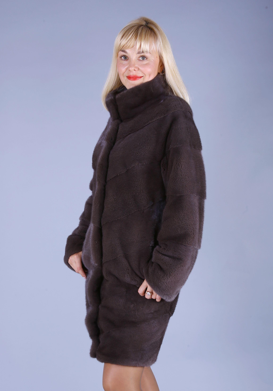 Шуба женская норковая 7730 фото №1