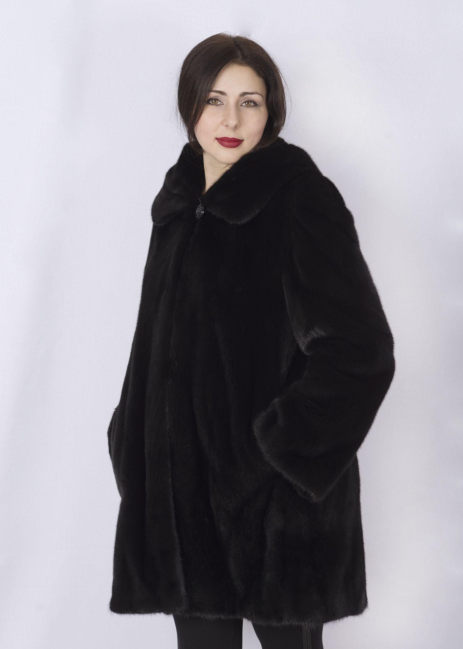 Шуба женская норковая 2603AS фото №1