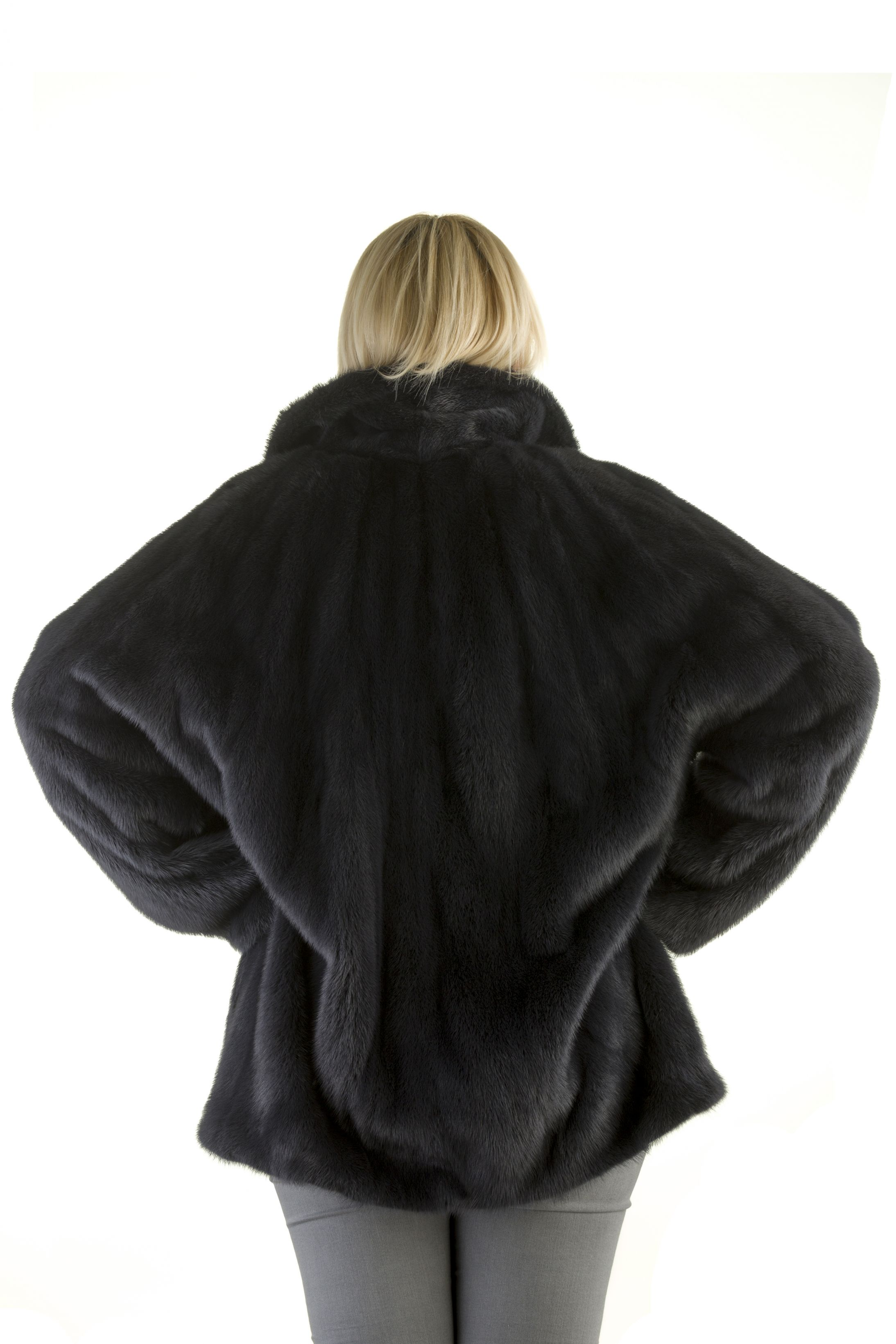 Шуба женская норковая 18502 фото №1