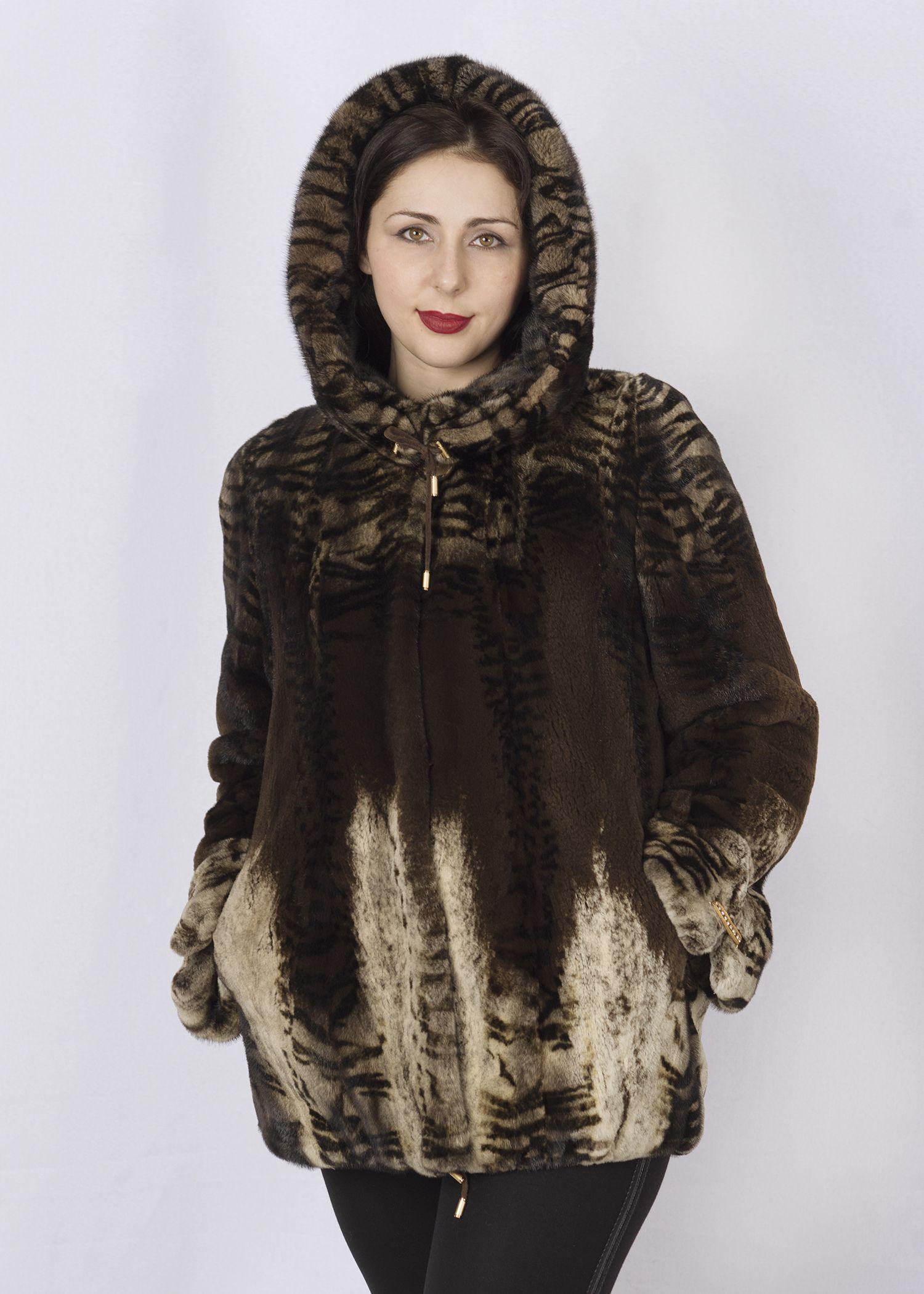 Шуба женская норковая SCR06 фото №1
