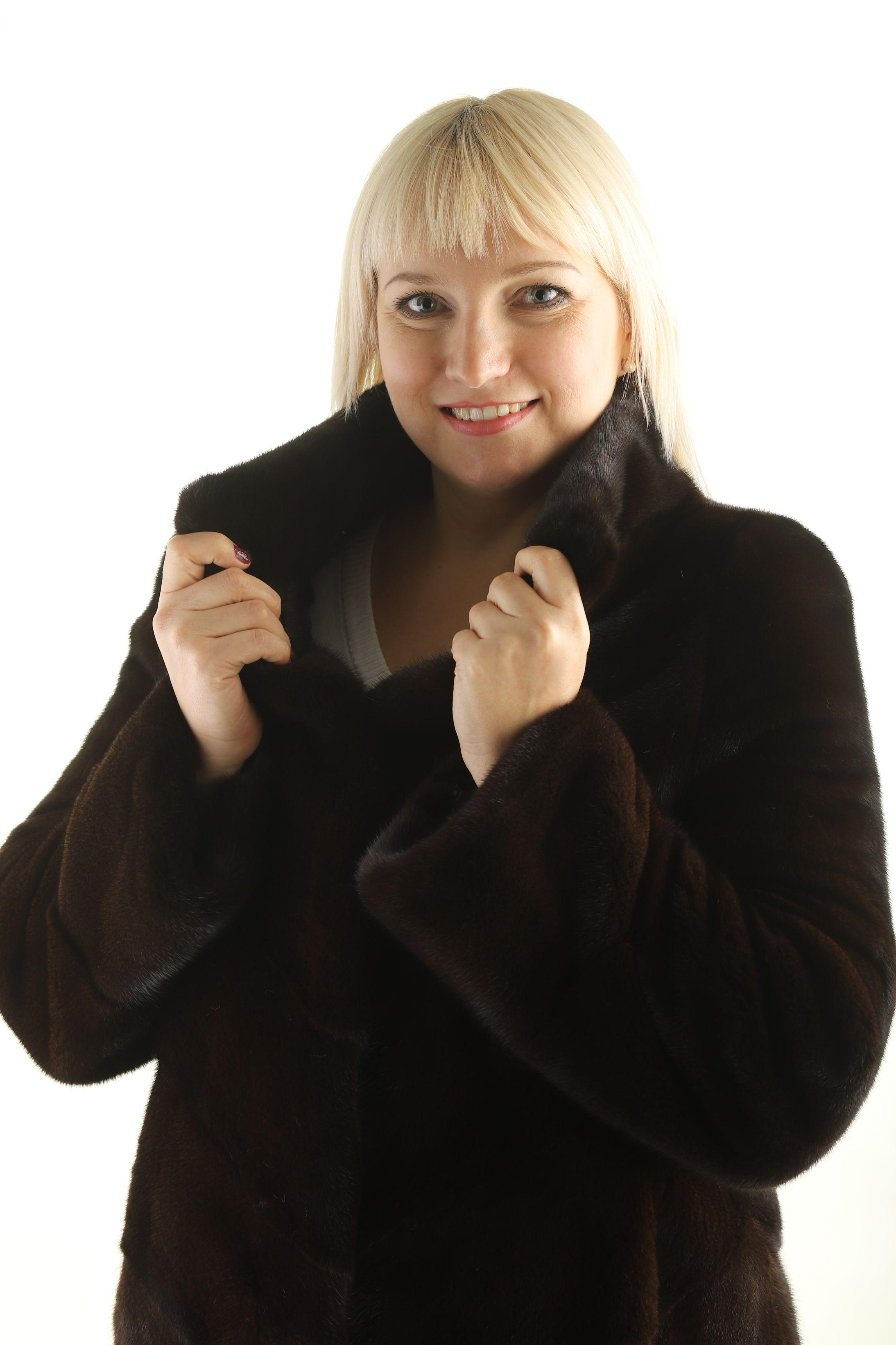 Шуба женская норковая 12234 фото №1