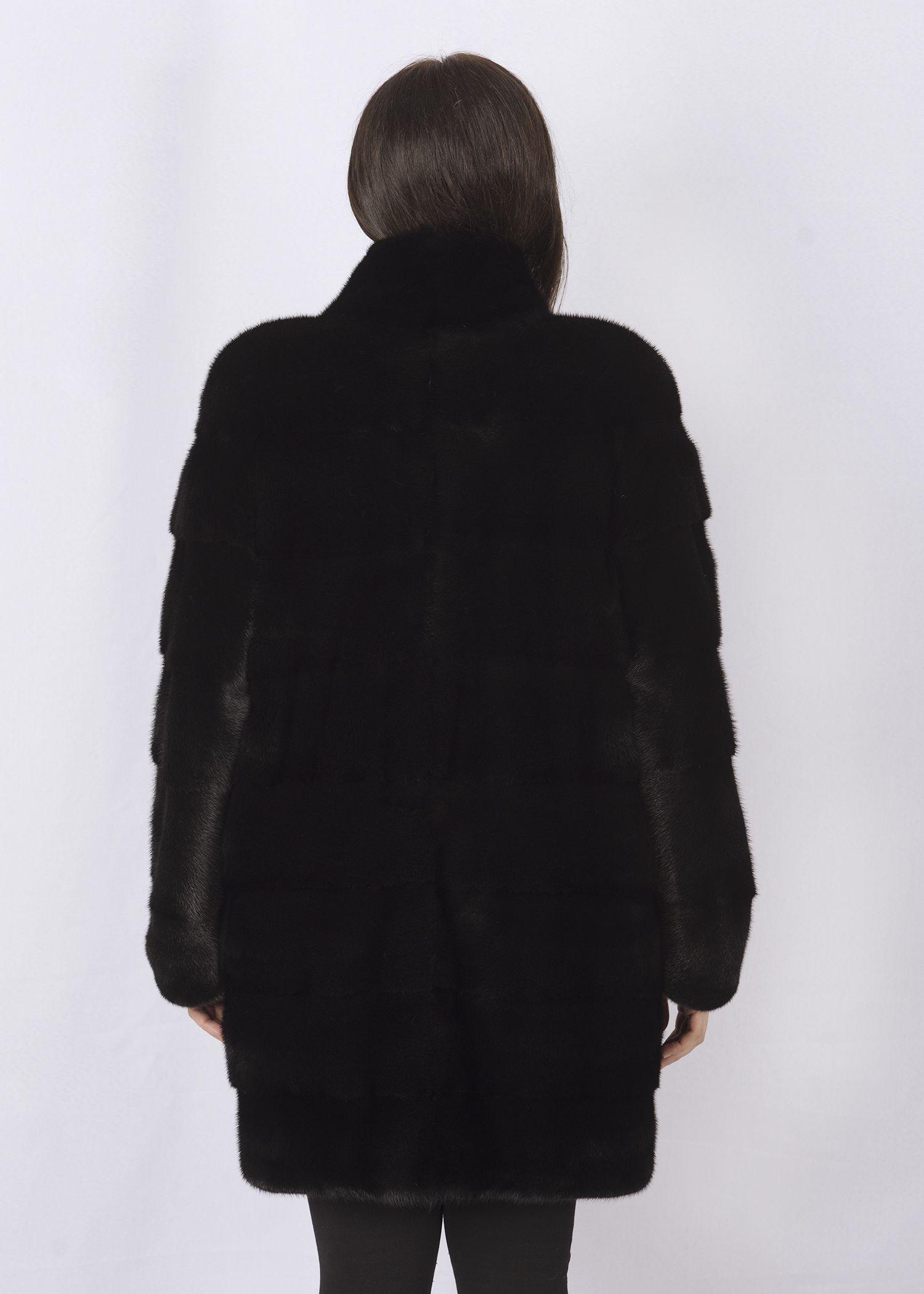 Шуба женская норковая 3418 фото №1