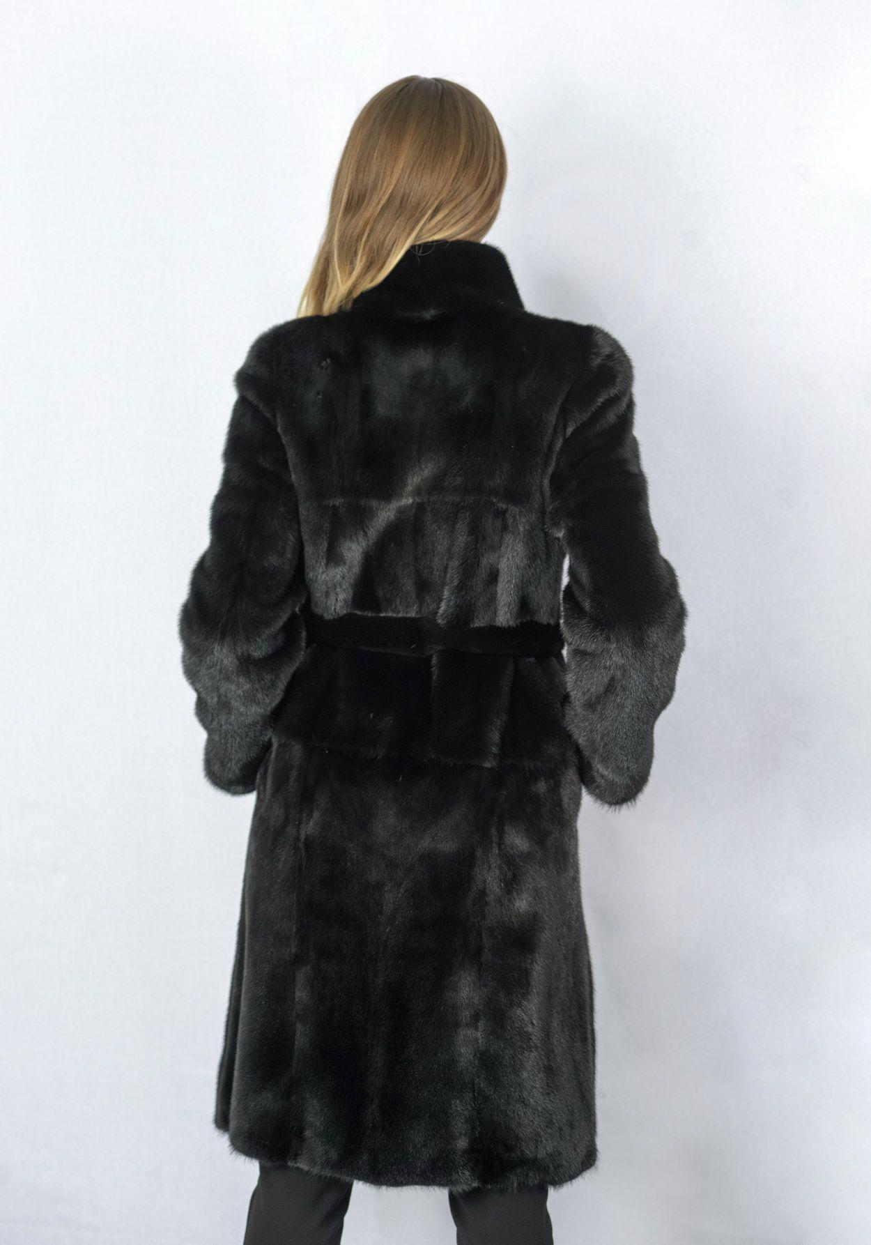 Шуба женская норковая 2536DP фото №1
