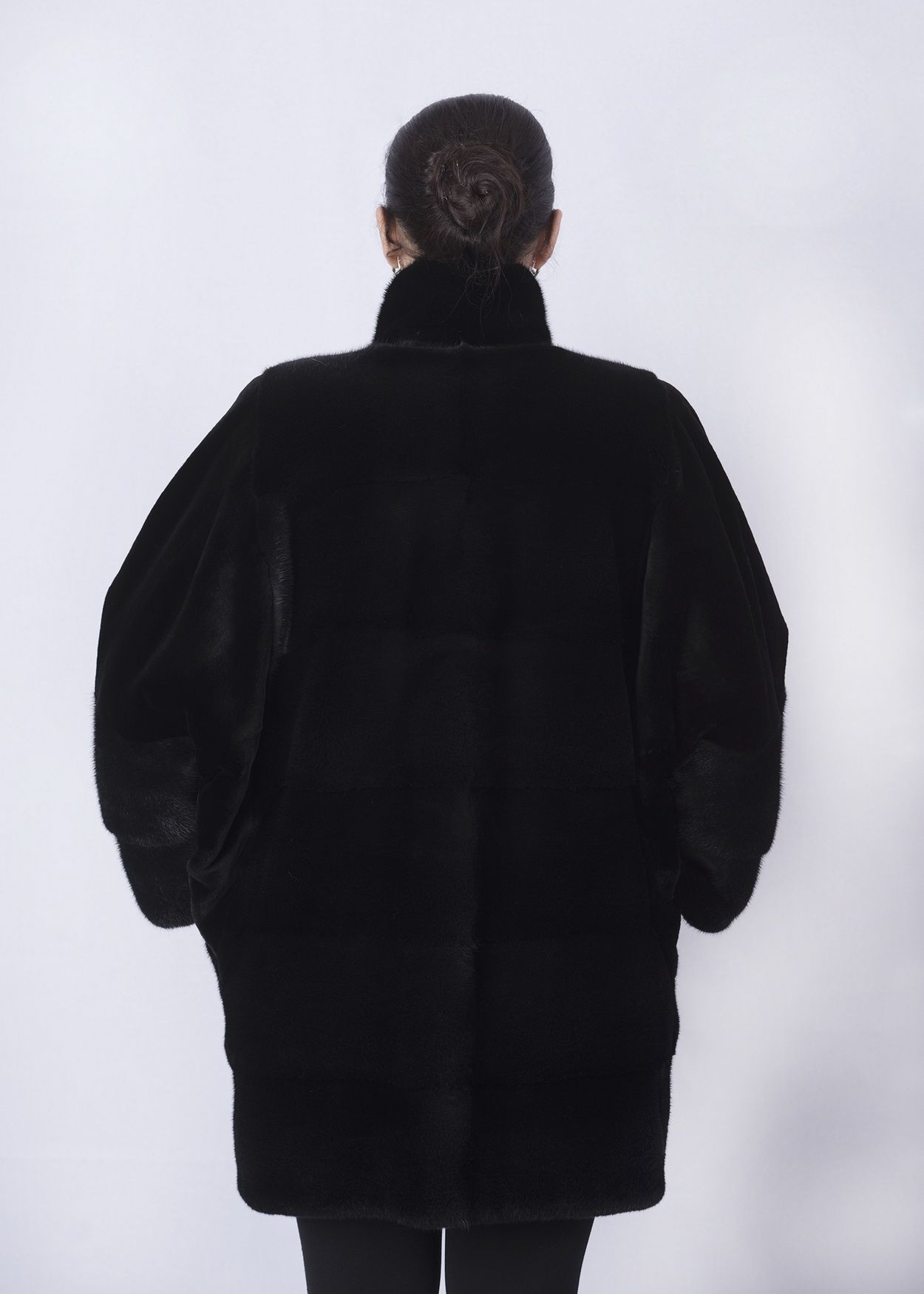 Шуба женская норковая 2763-W фото №1
