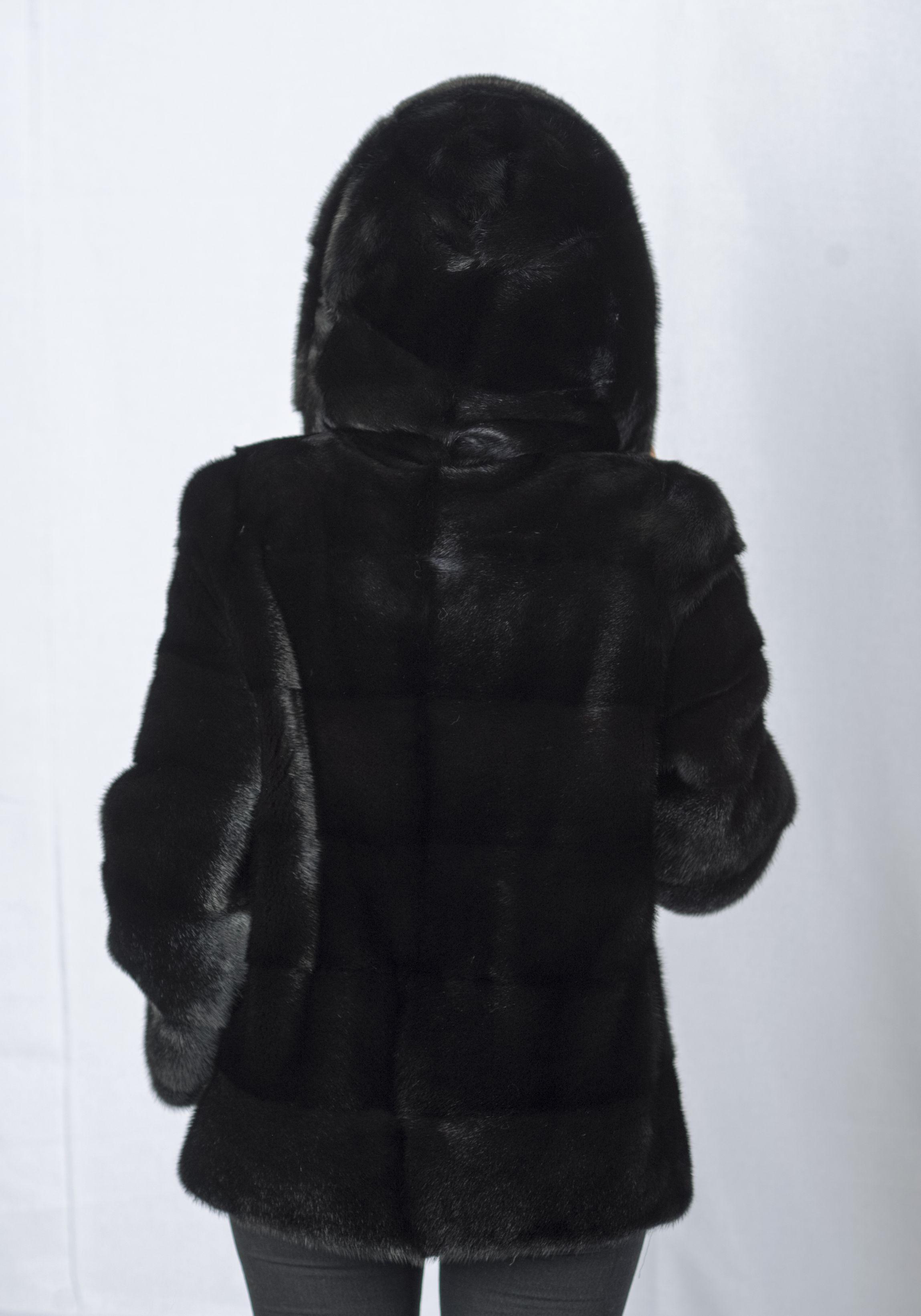 Шуба женская норковая 225 фото №1