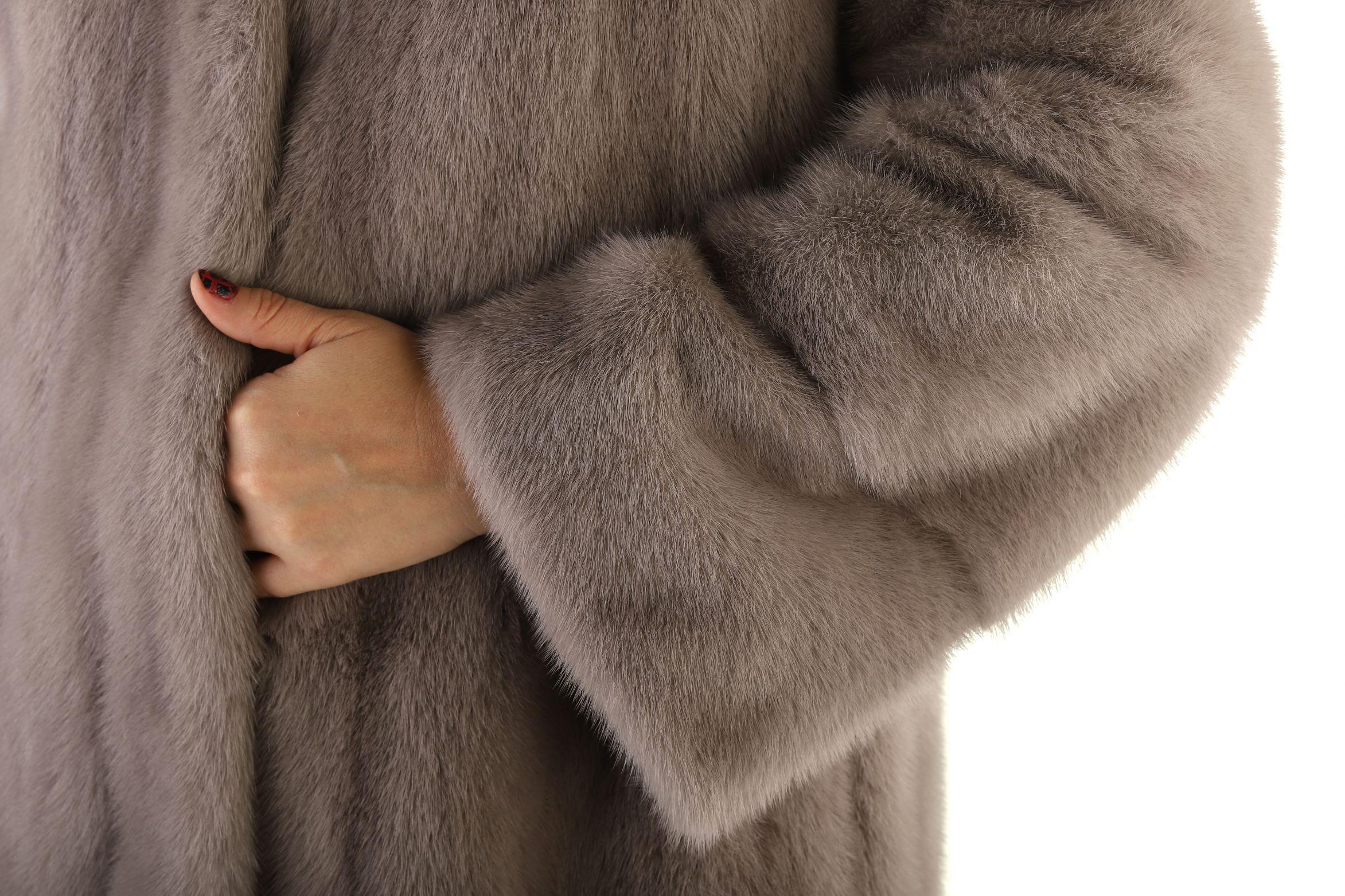 Шуба женская норковая 16270L фото №1