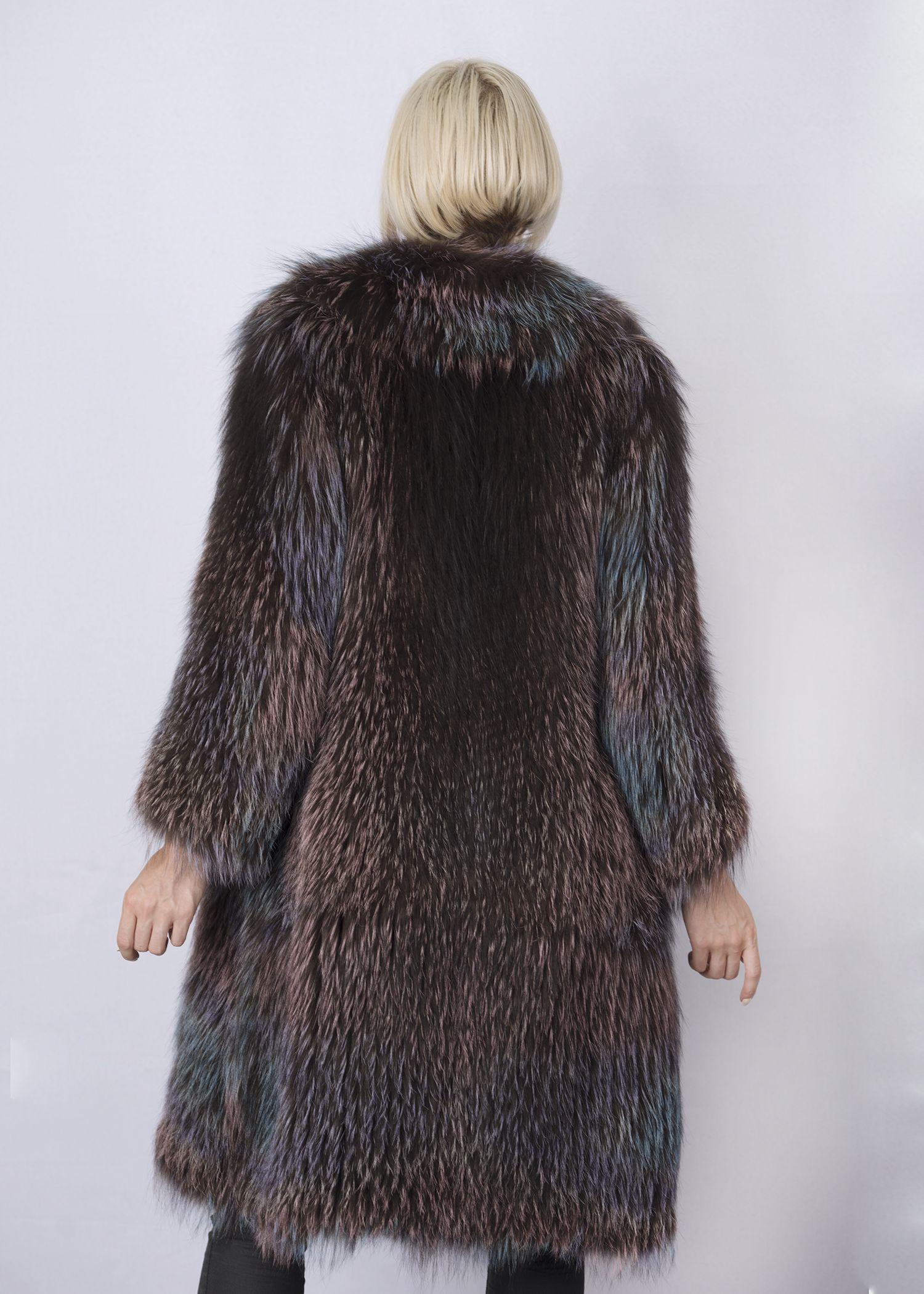 Кофта женская из меха лисы FOX-005 фото №1